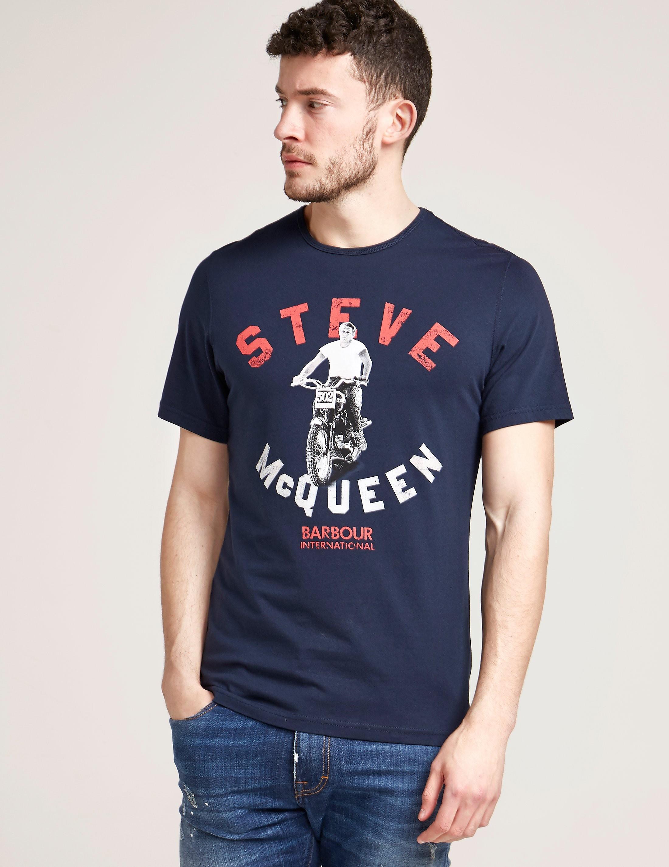 Barbour International Steve McQueen Leap T-Shirt