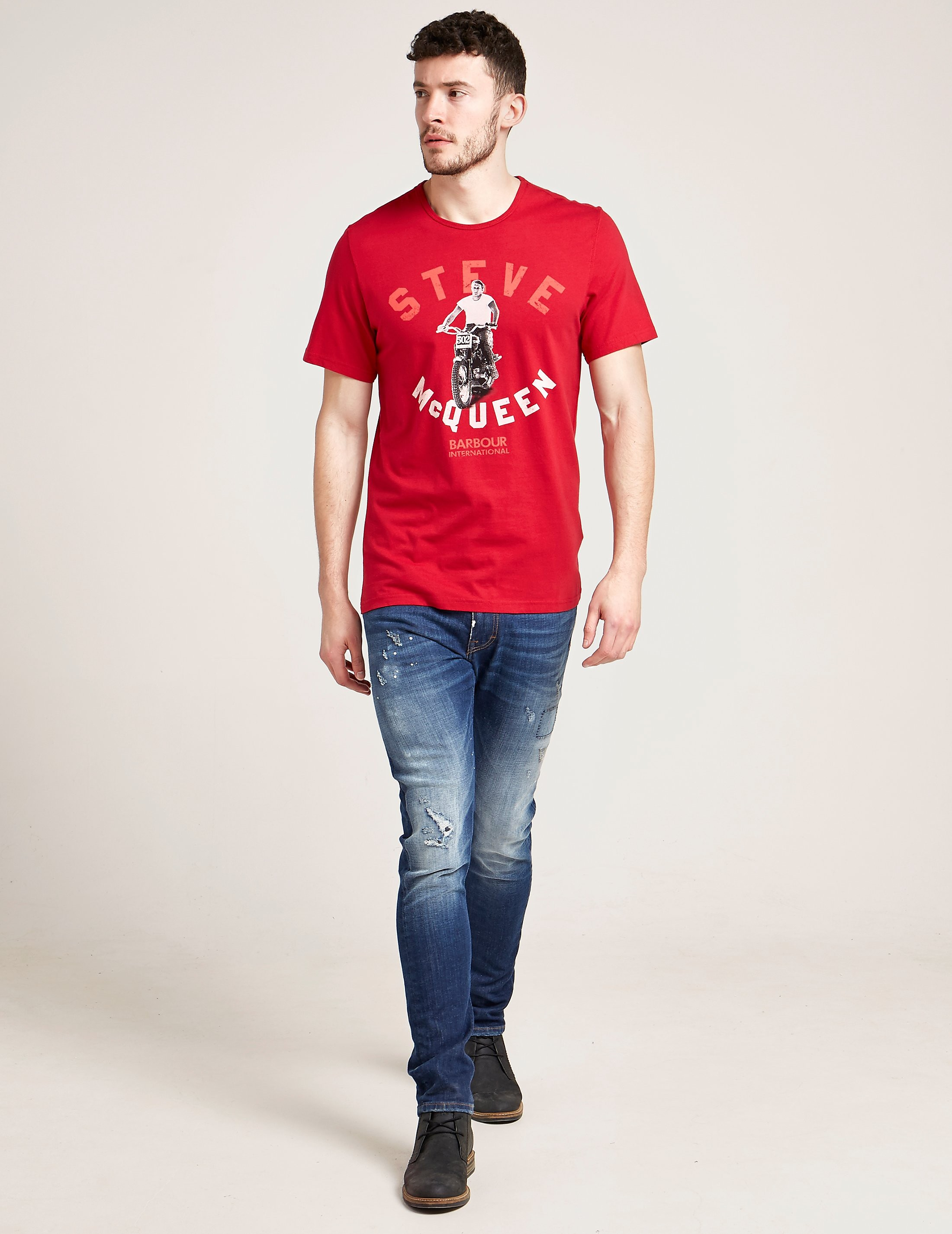 Barbour International Steve McQueen Leap T-Shirt