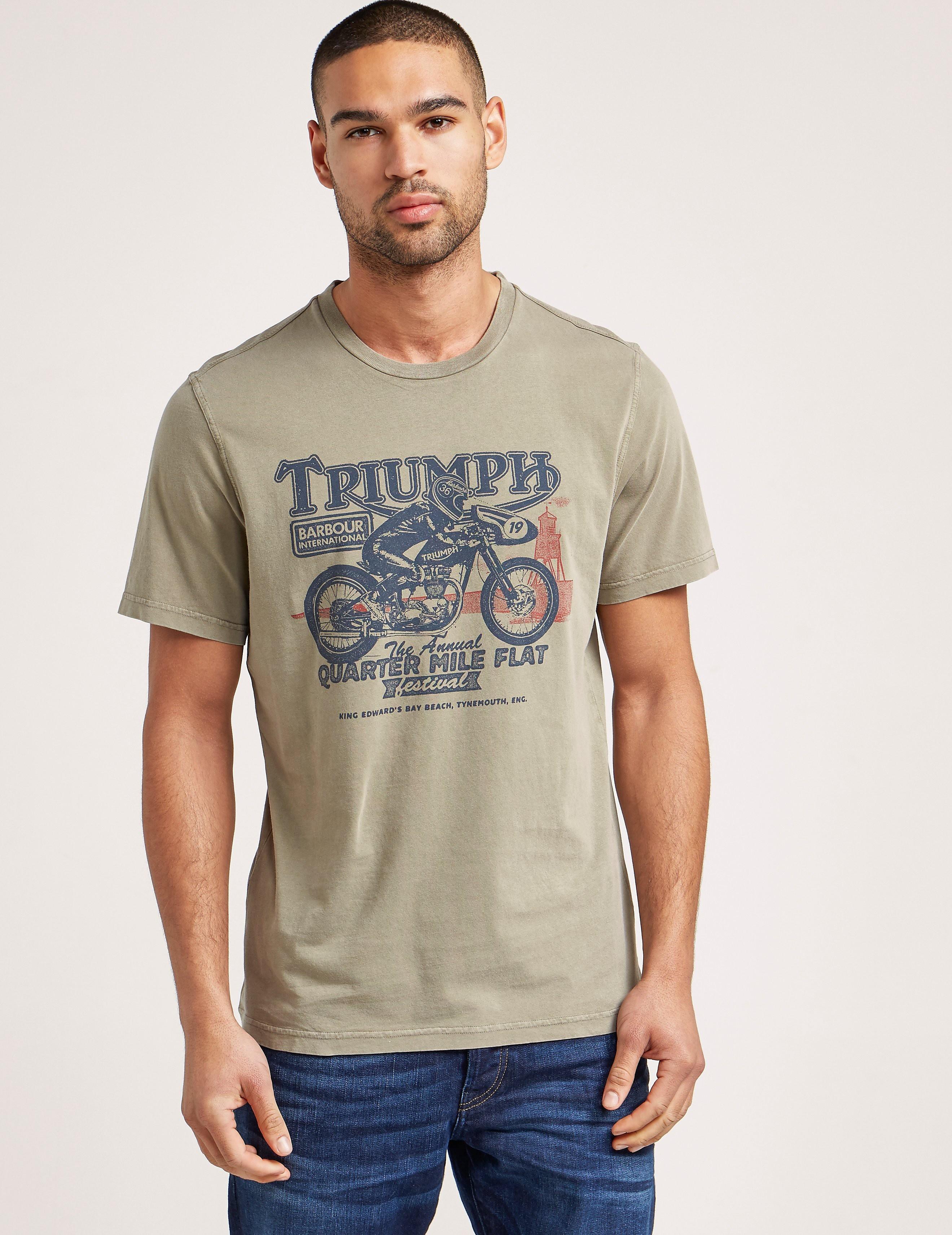 Barbour International Qtr Mile Short Sleeve T-Shirt