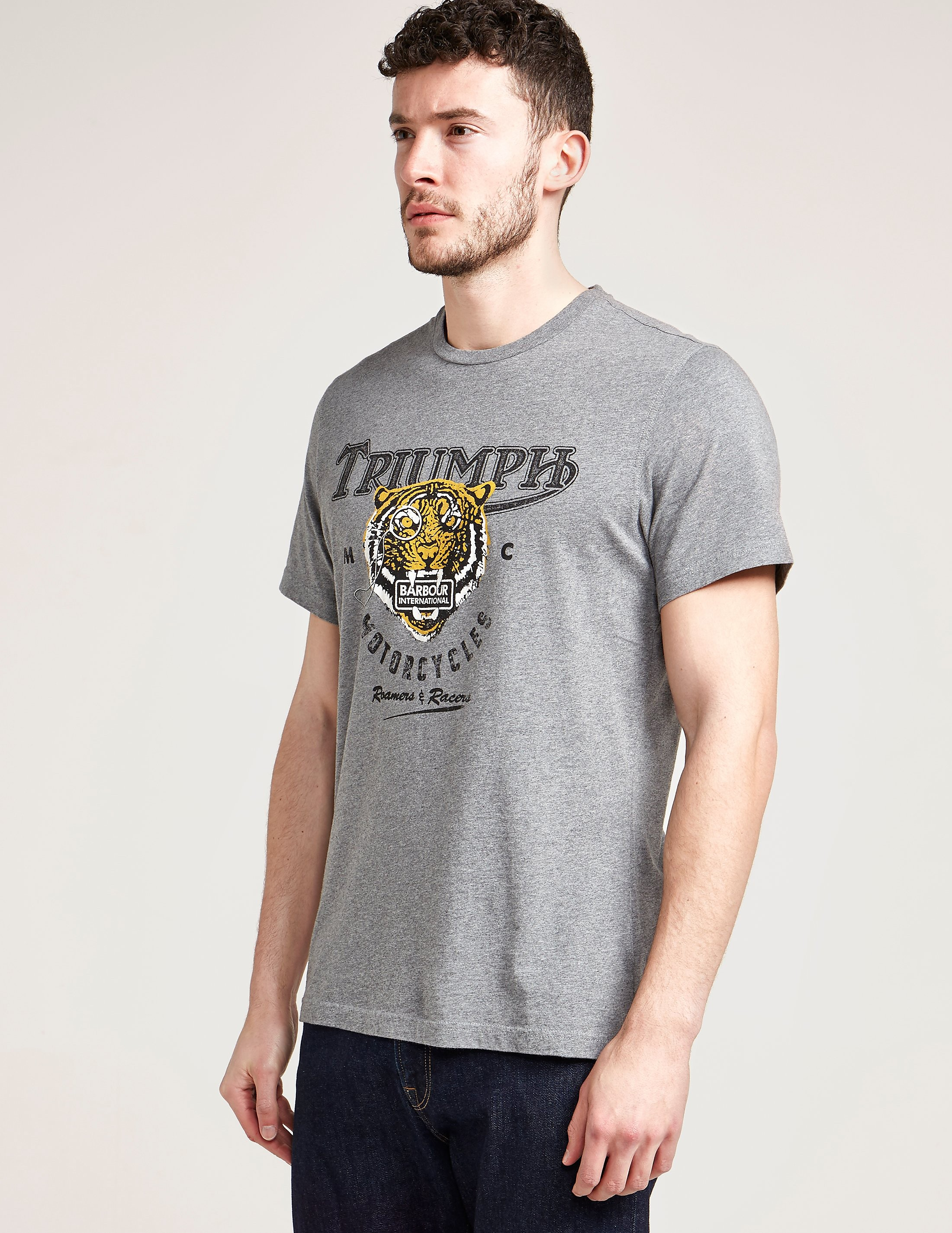 Barbour International Tiger Short Sleeve T-Shirt