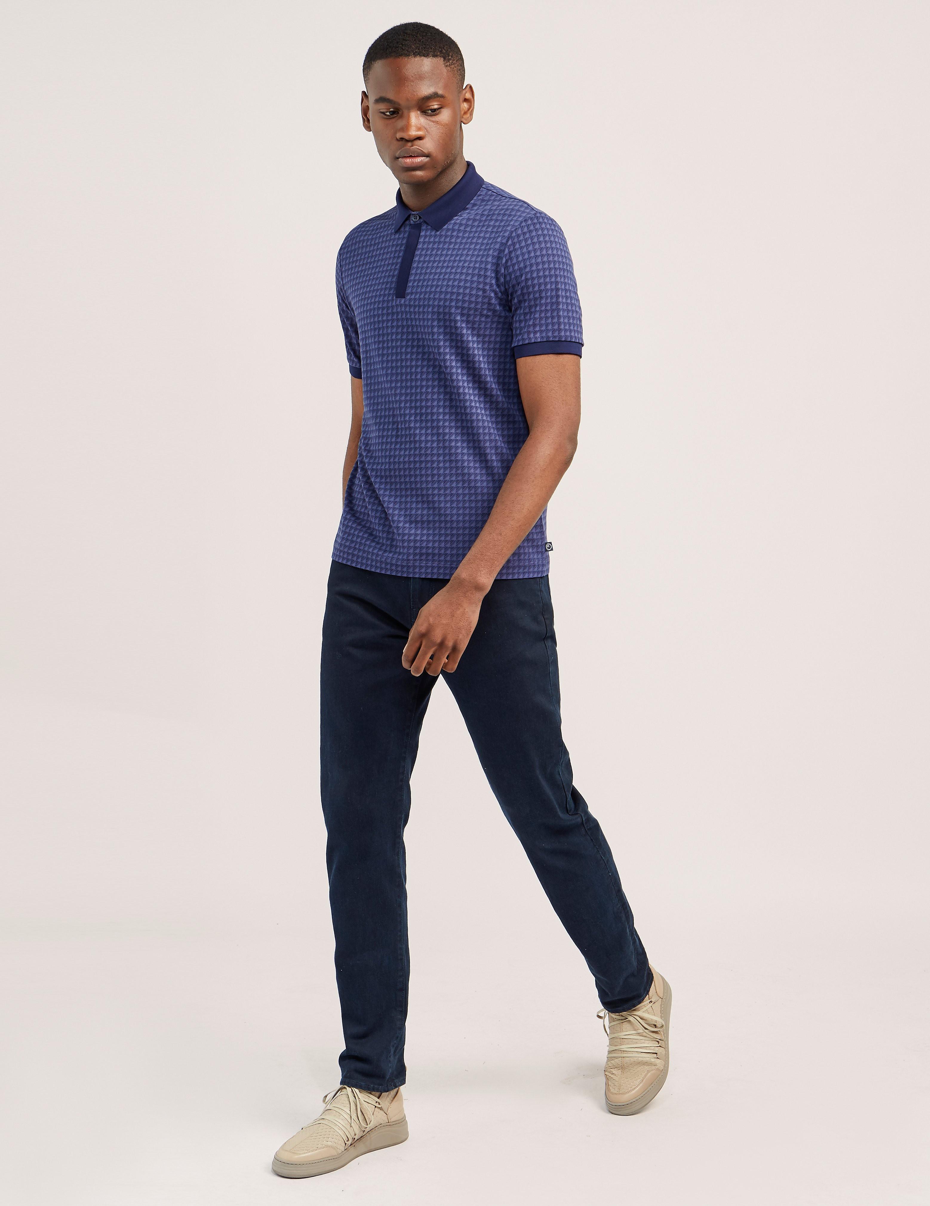 Armani Collezioni Prism Short Sleeve Polo Shirt