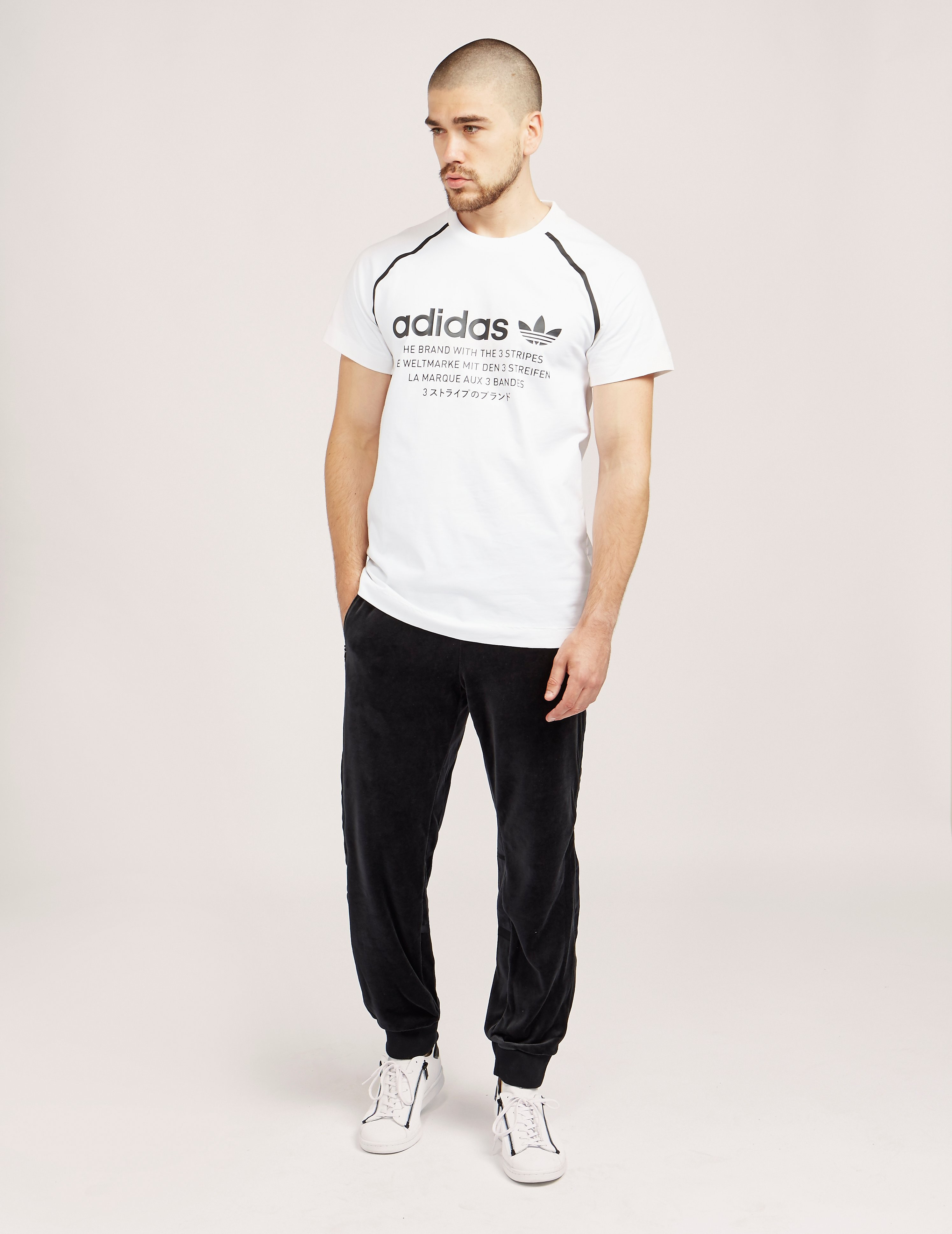 adidas Originals Challenger Velour Track Joggers