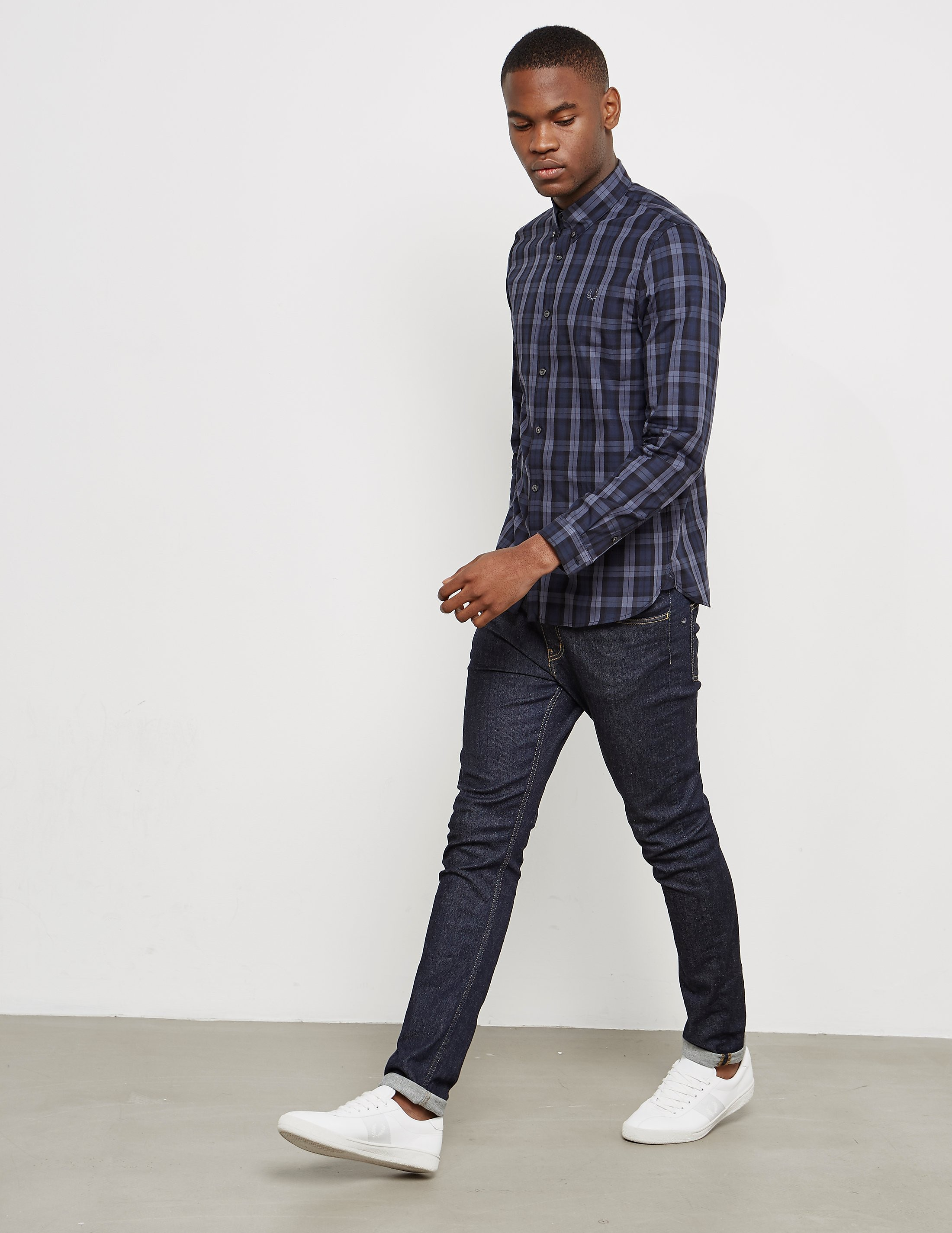 Fred Perry Plaid Tartan Shirt