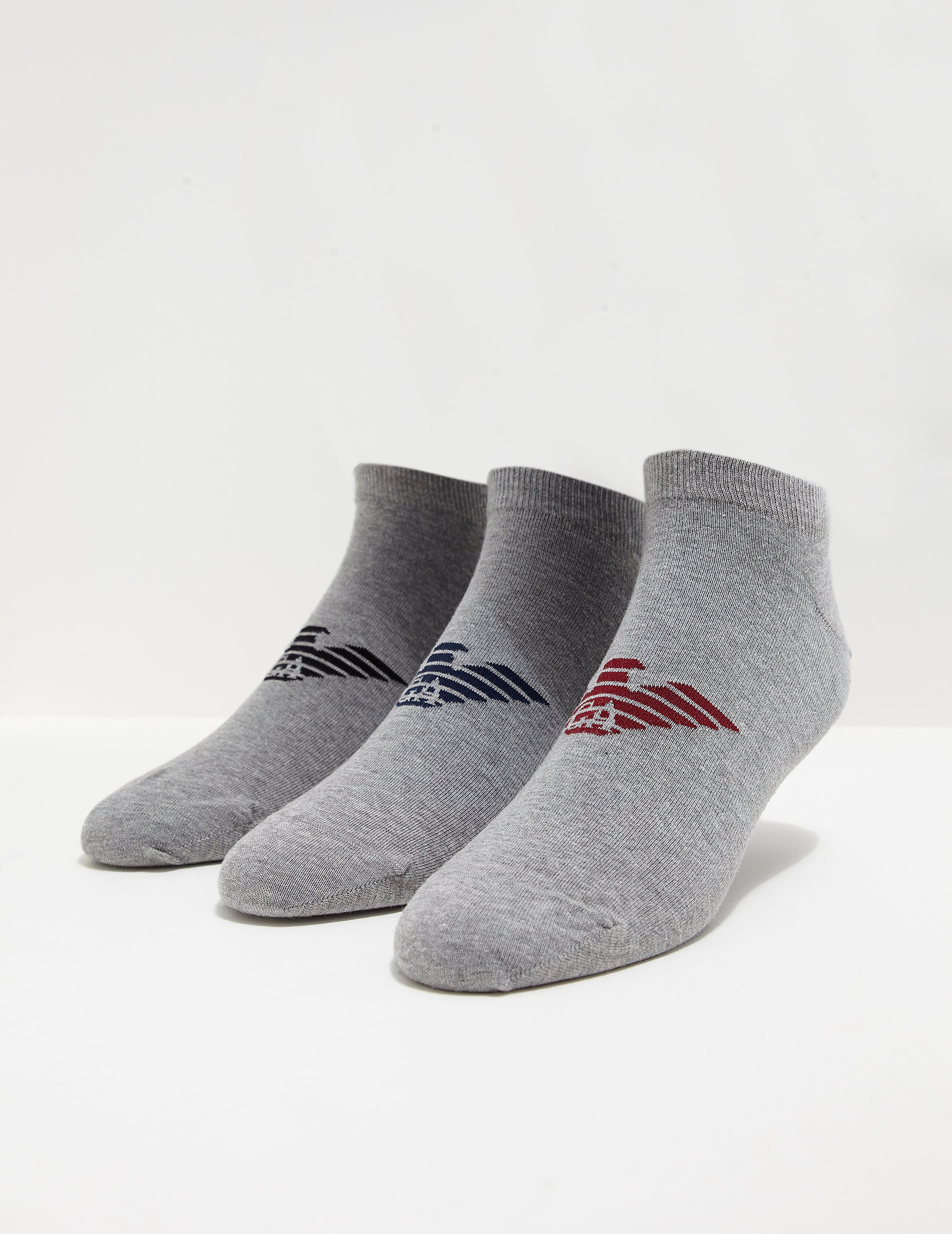 Emporio Armani 3-Pack Ankle Socks