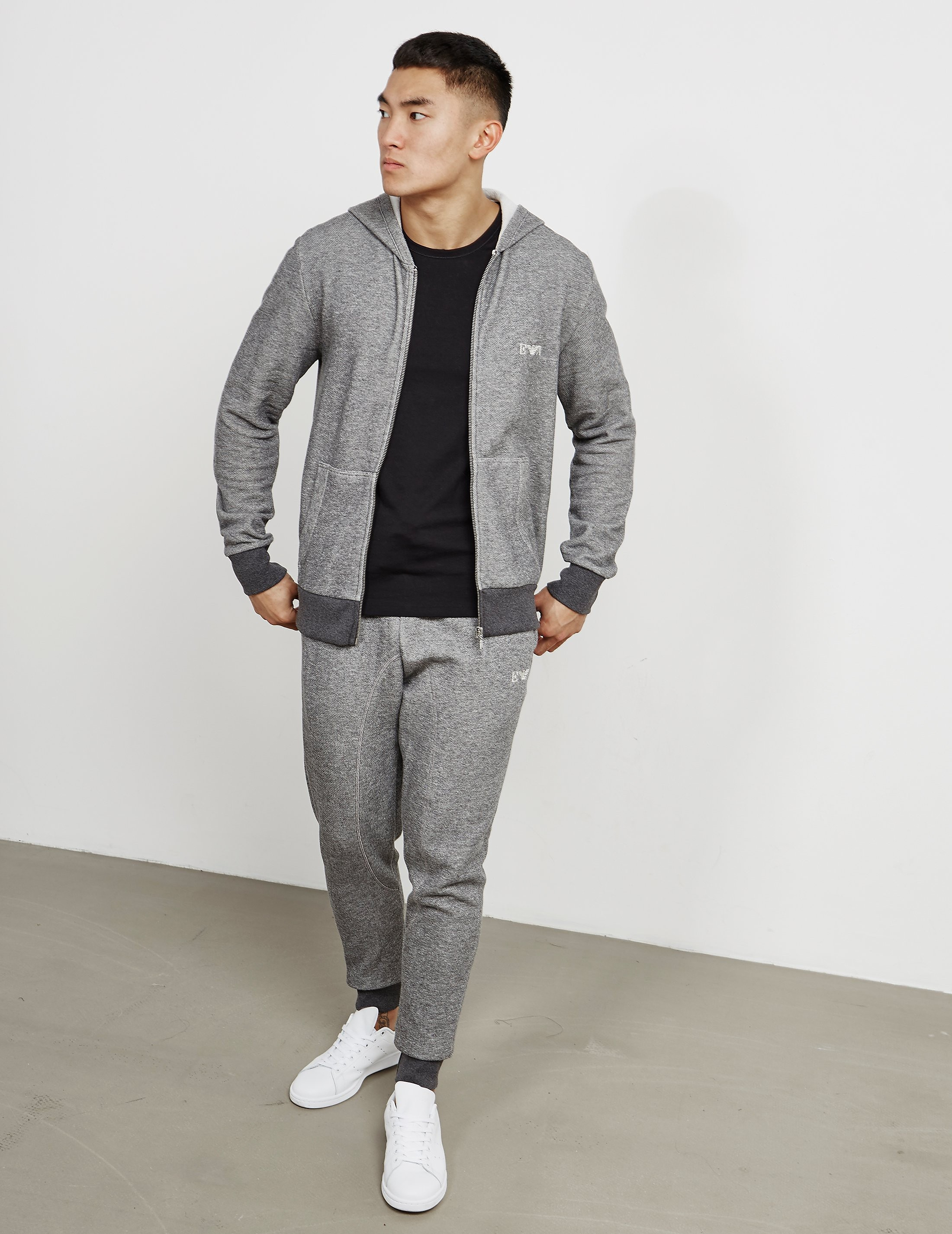 Emporio Armani Terry Cuffed Track Pants