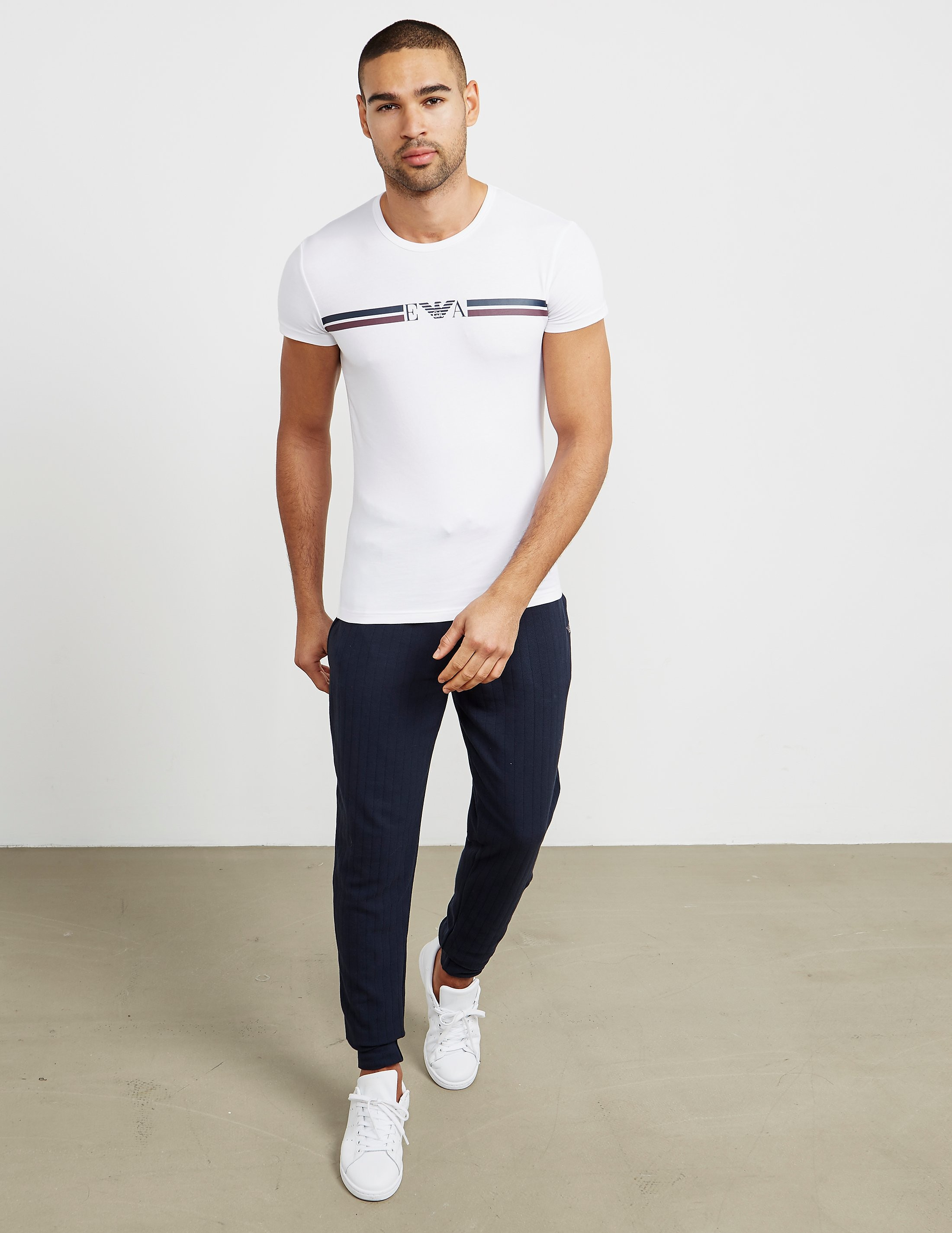Emporio Armani Stripe Short Sleeve T-Shirt - Online Exclusive