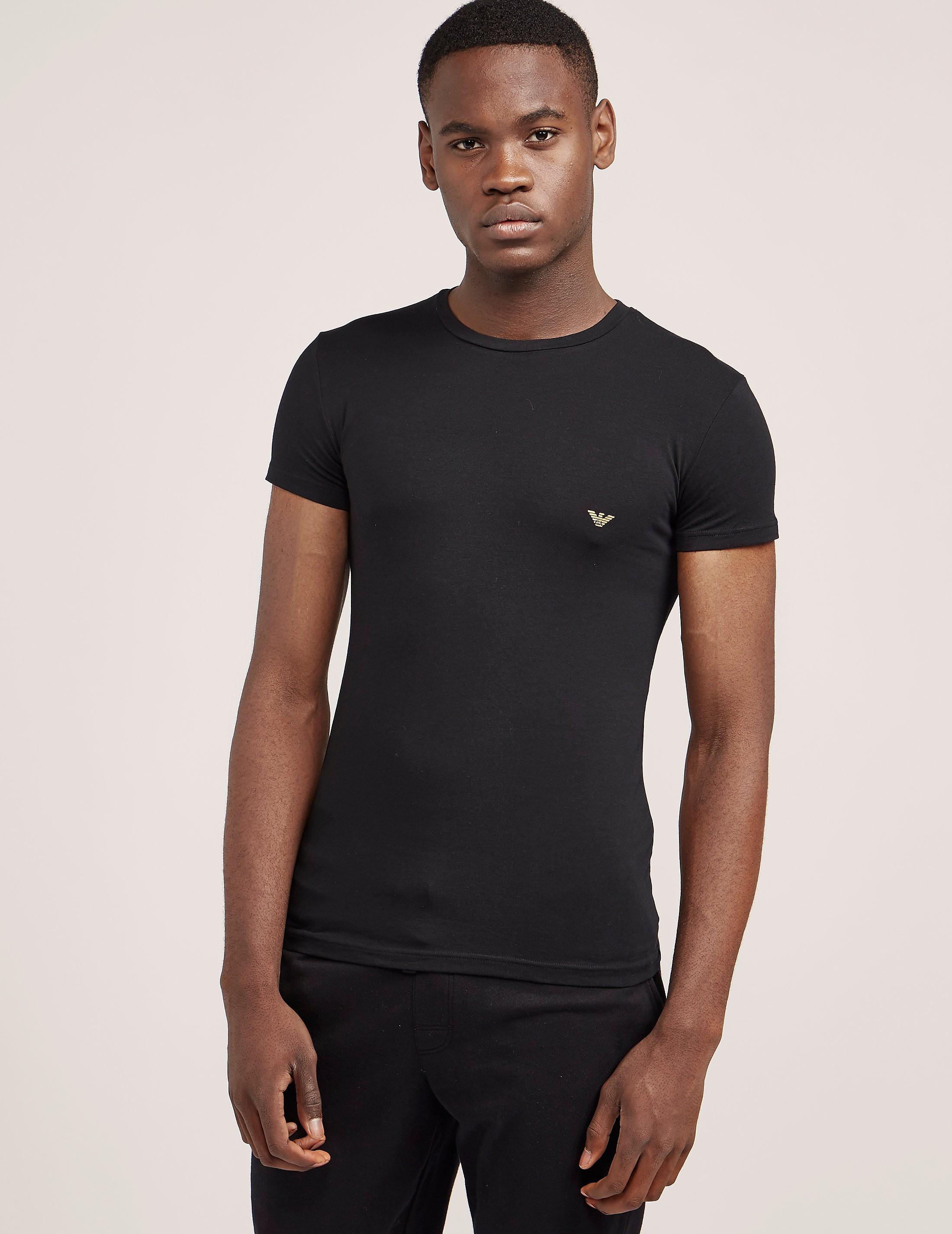 Emporio Armani Metal Eagle Short Sleeve T-Shirt