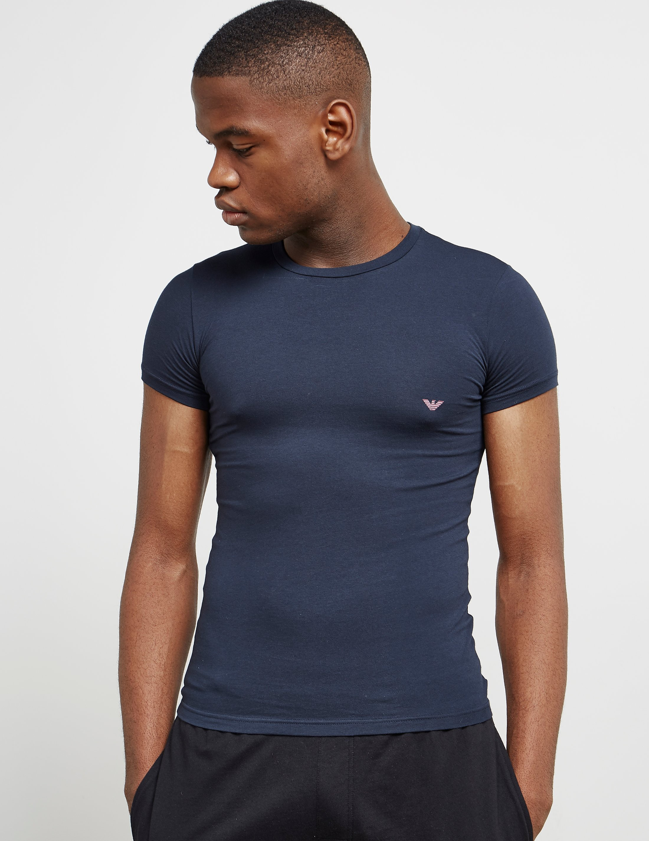 Emporio Armani Small Eagle Short Sleeve T-Shirt
