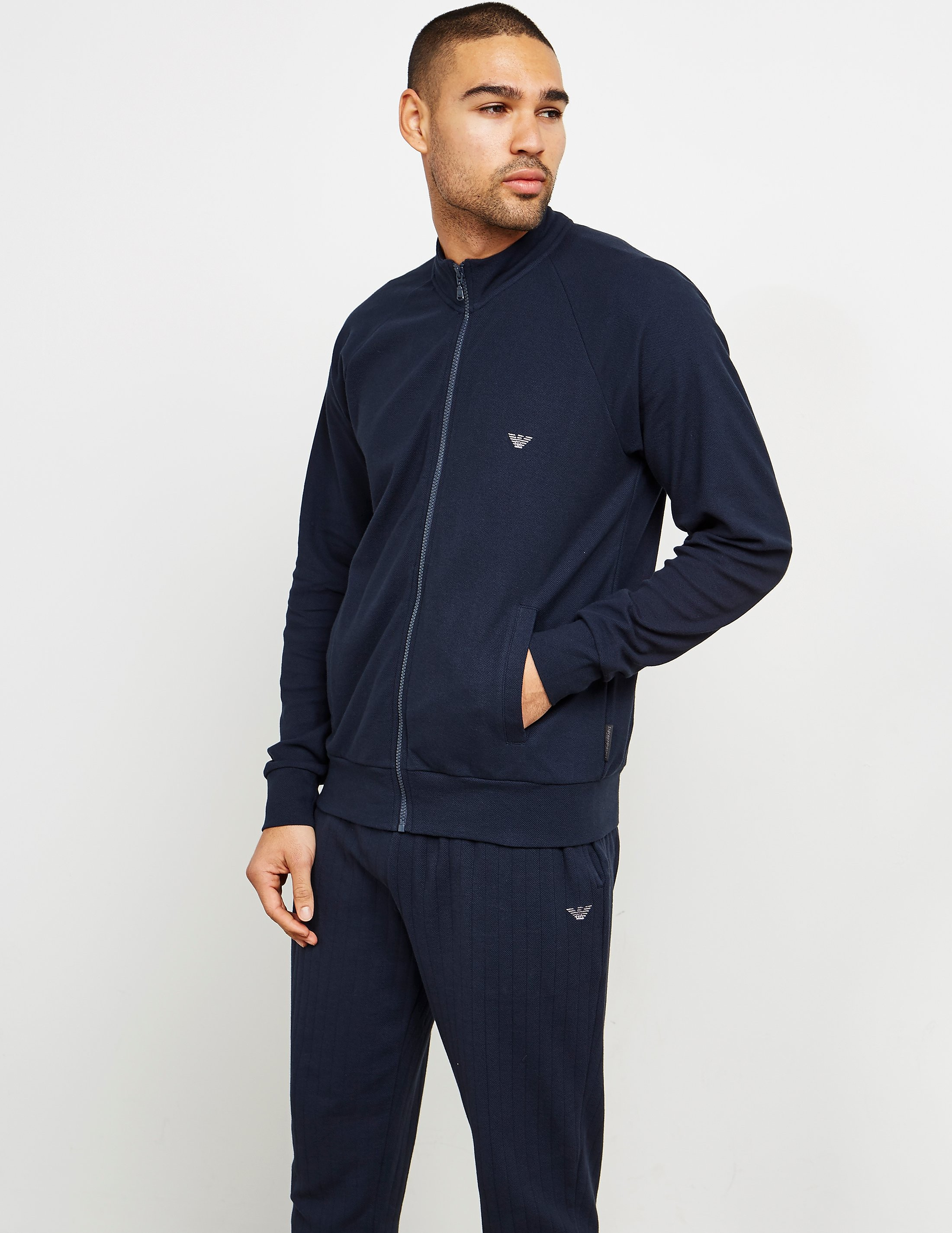 Emporio Armani Interlock Track Top
