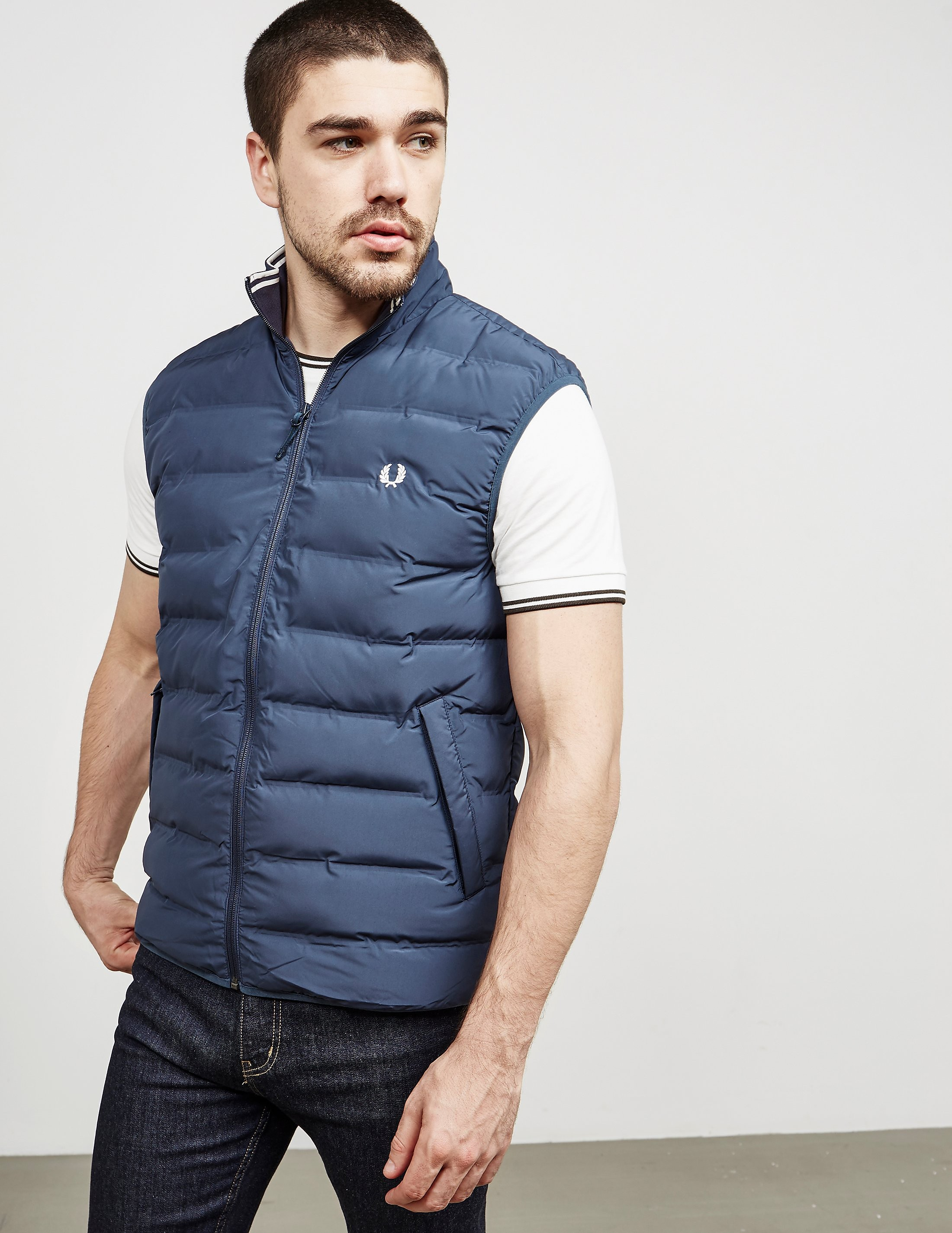 Fred Perry Padded Gilet