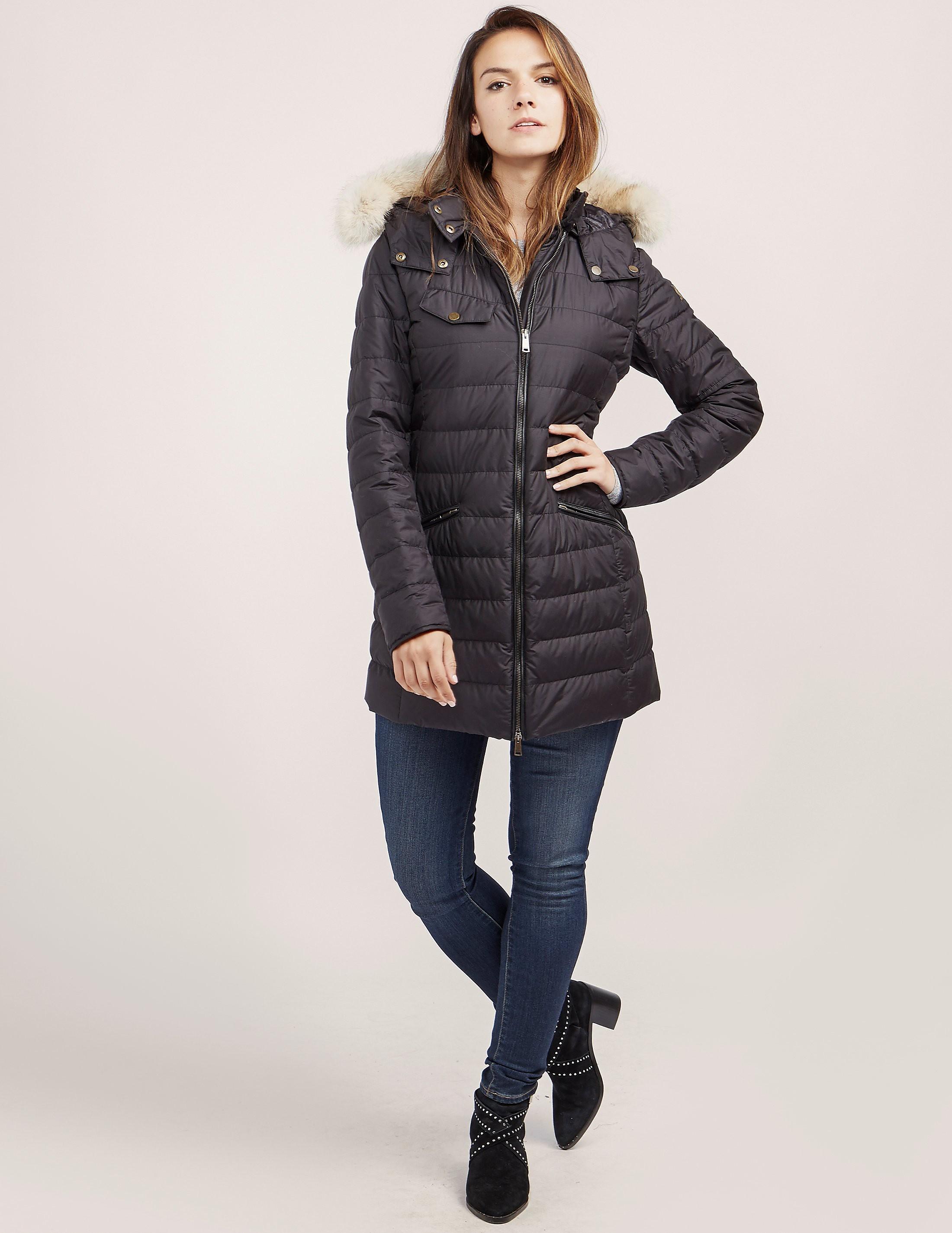 Belstaff Melcombe Fur Padded Jacket