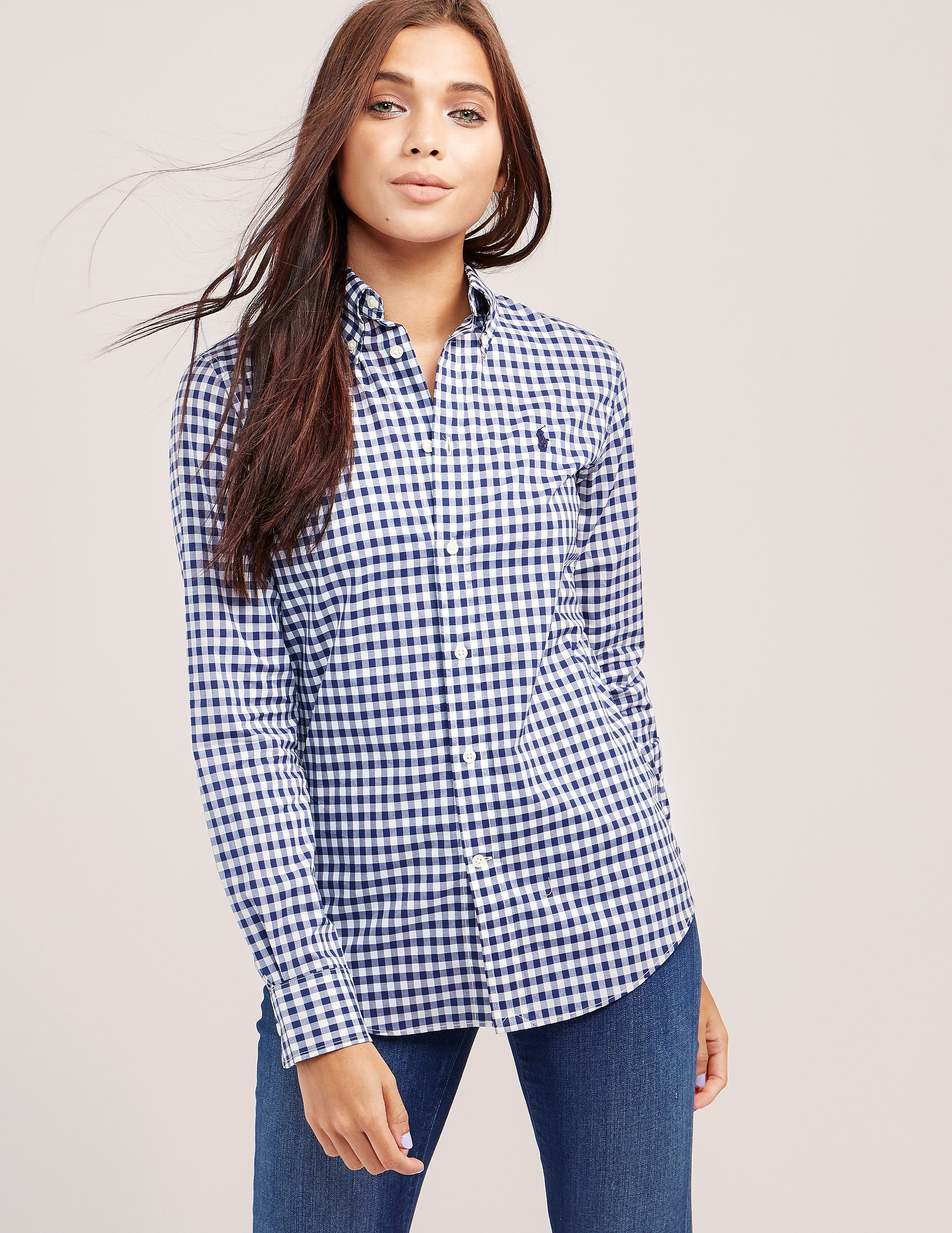 Polo Ralph Lauren Kendal Gingham Long Sleeve Shirt