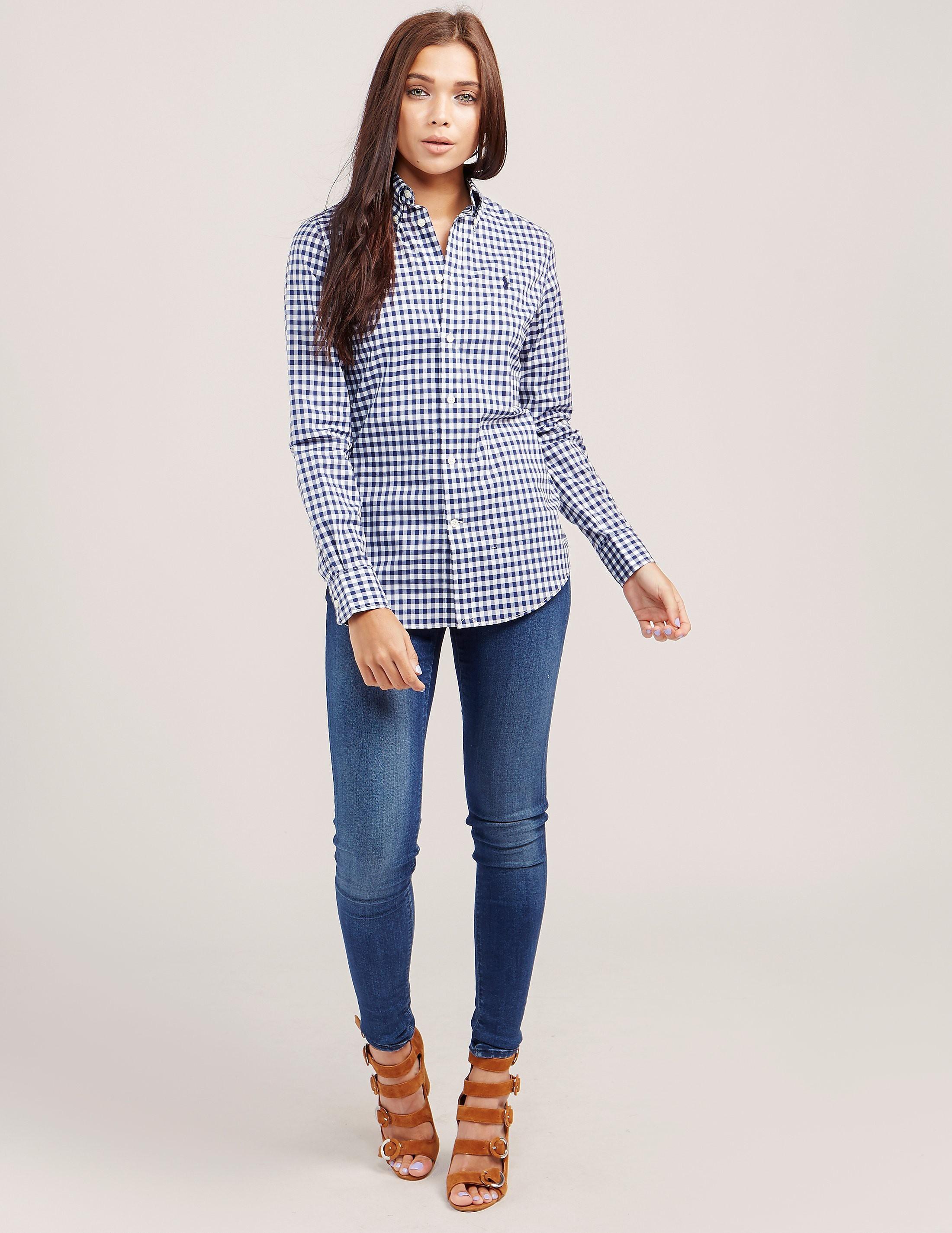 Polo Ralph Lauren Kendal Gingham Long Sleeve Shirt