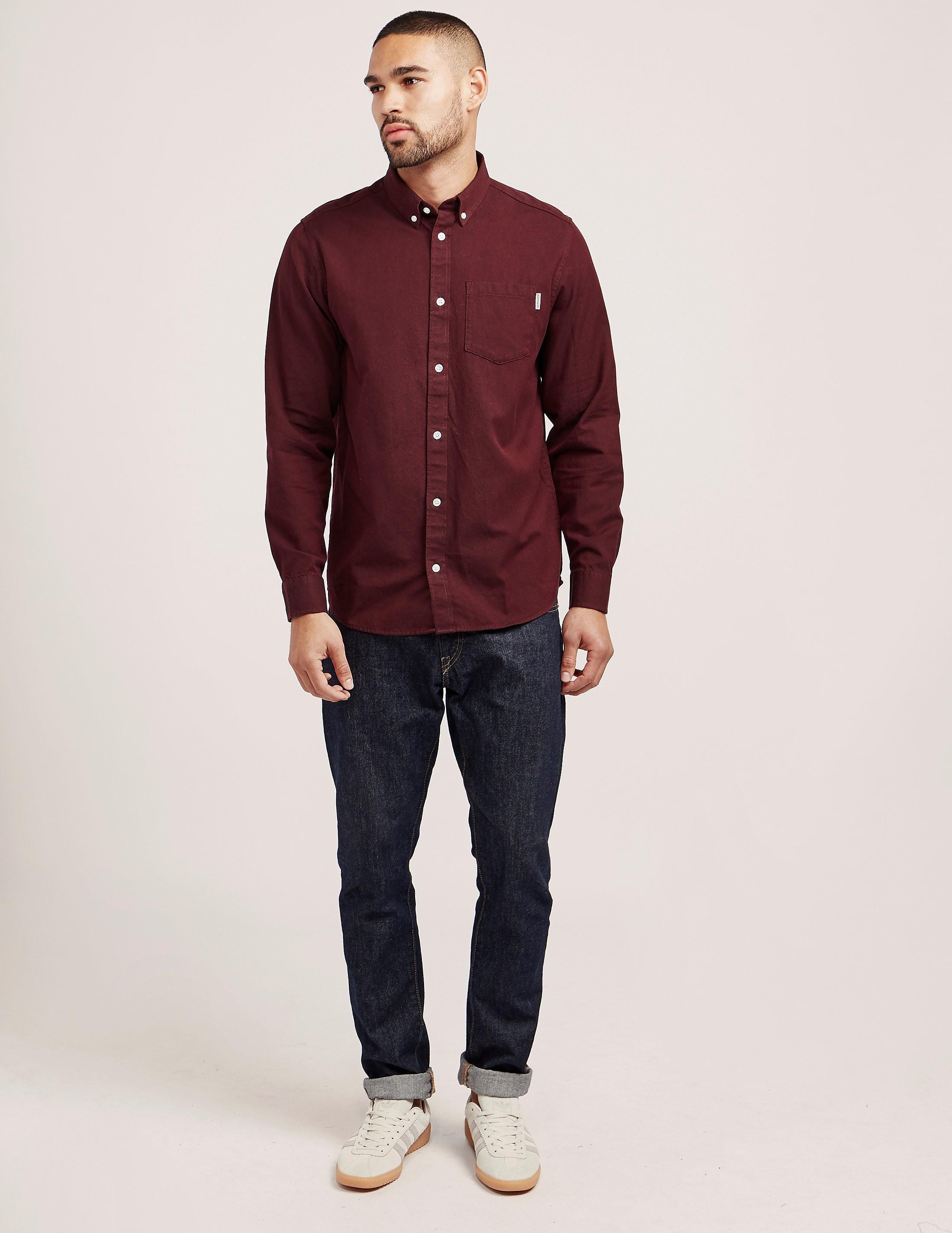 Carhartt WIP Dalton Oxford Long Sleeve Shirt