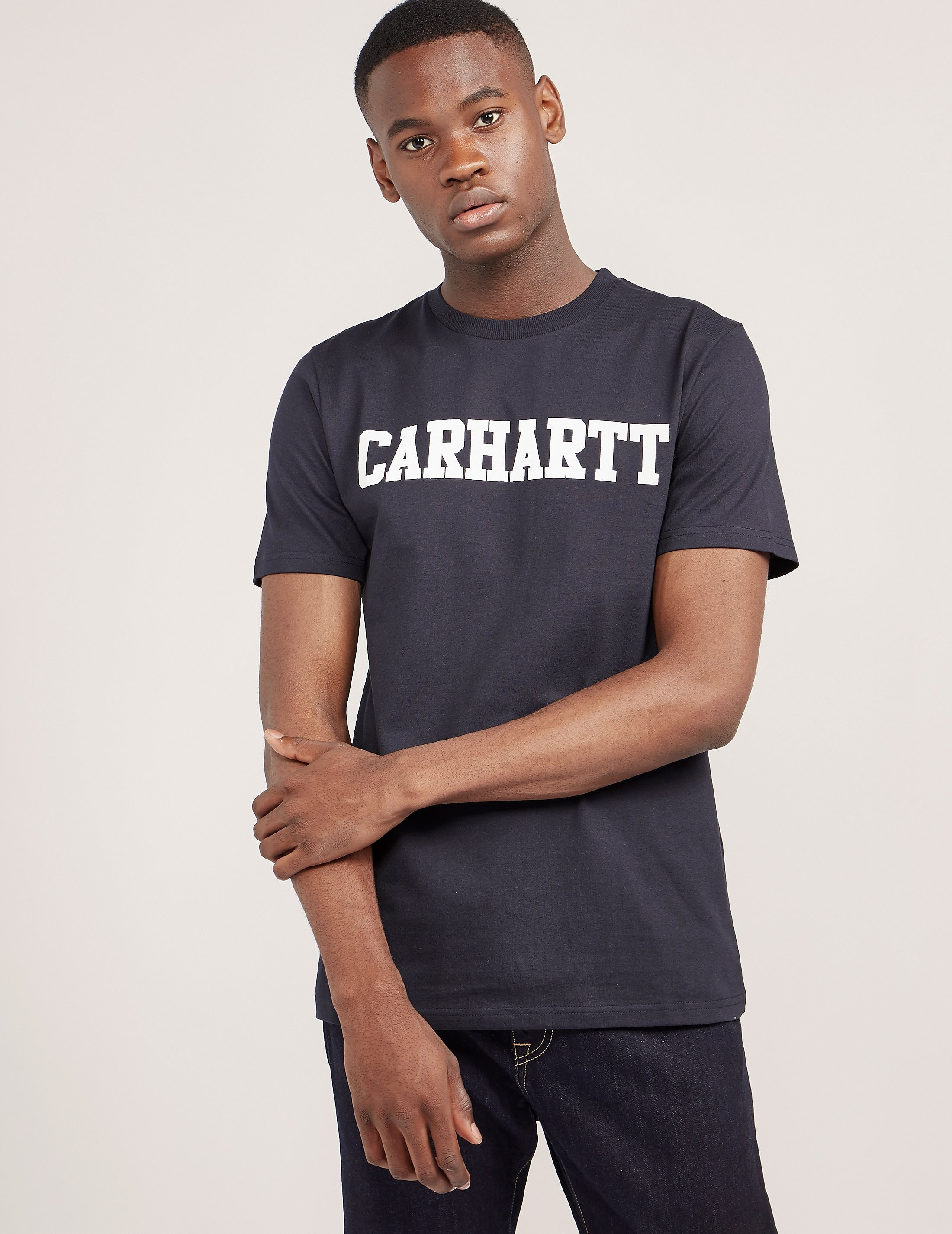 Carhartt WIP College Short Sleeve T-Shirt