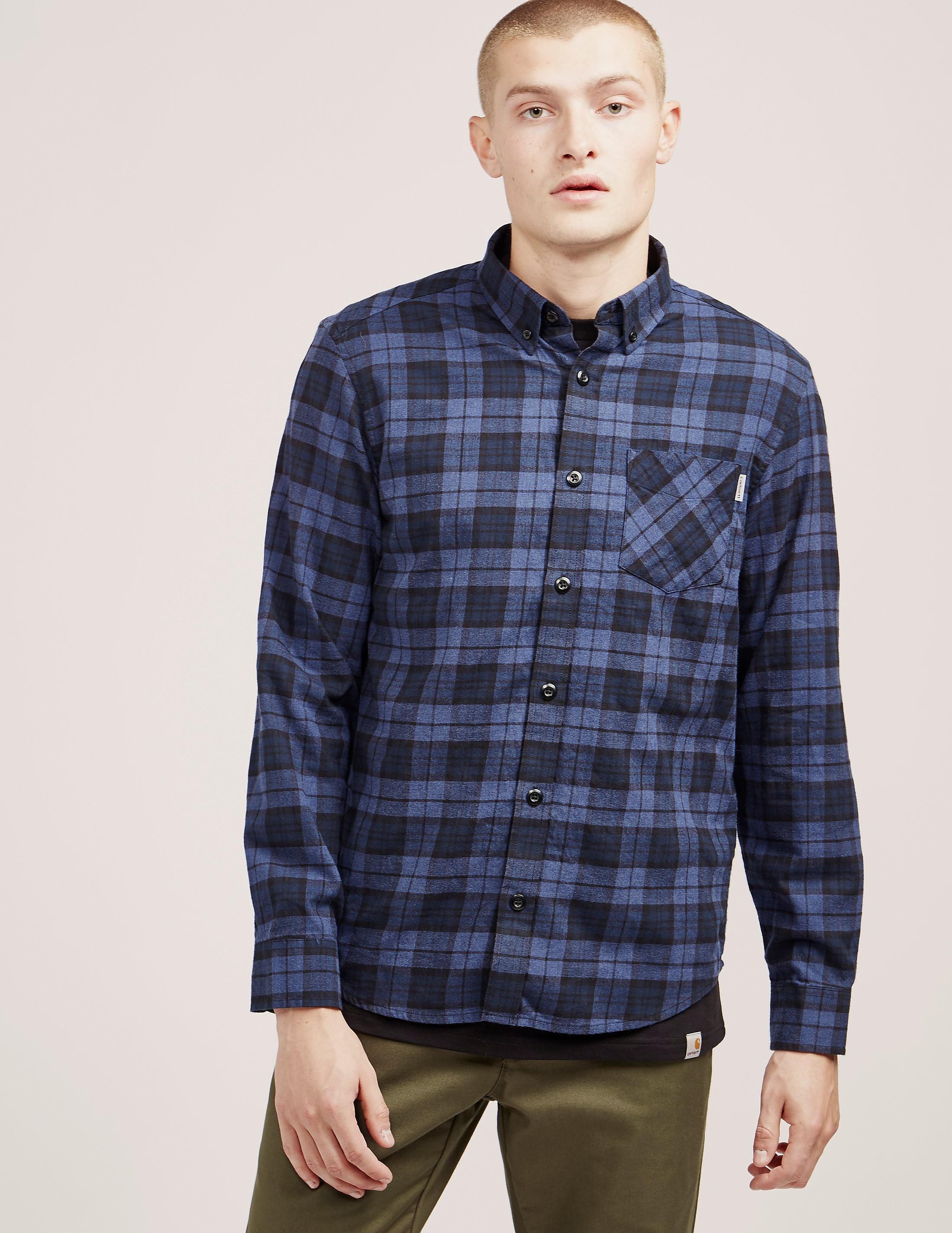 Carhartt WIP Norton Checked Long Sleeve Shirt
