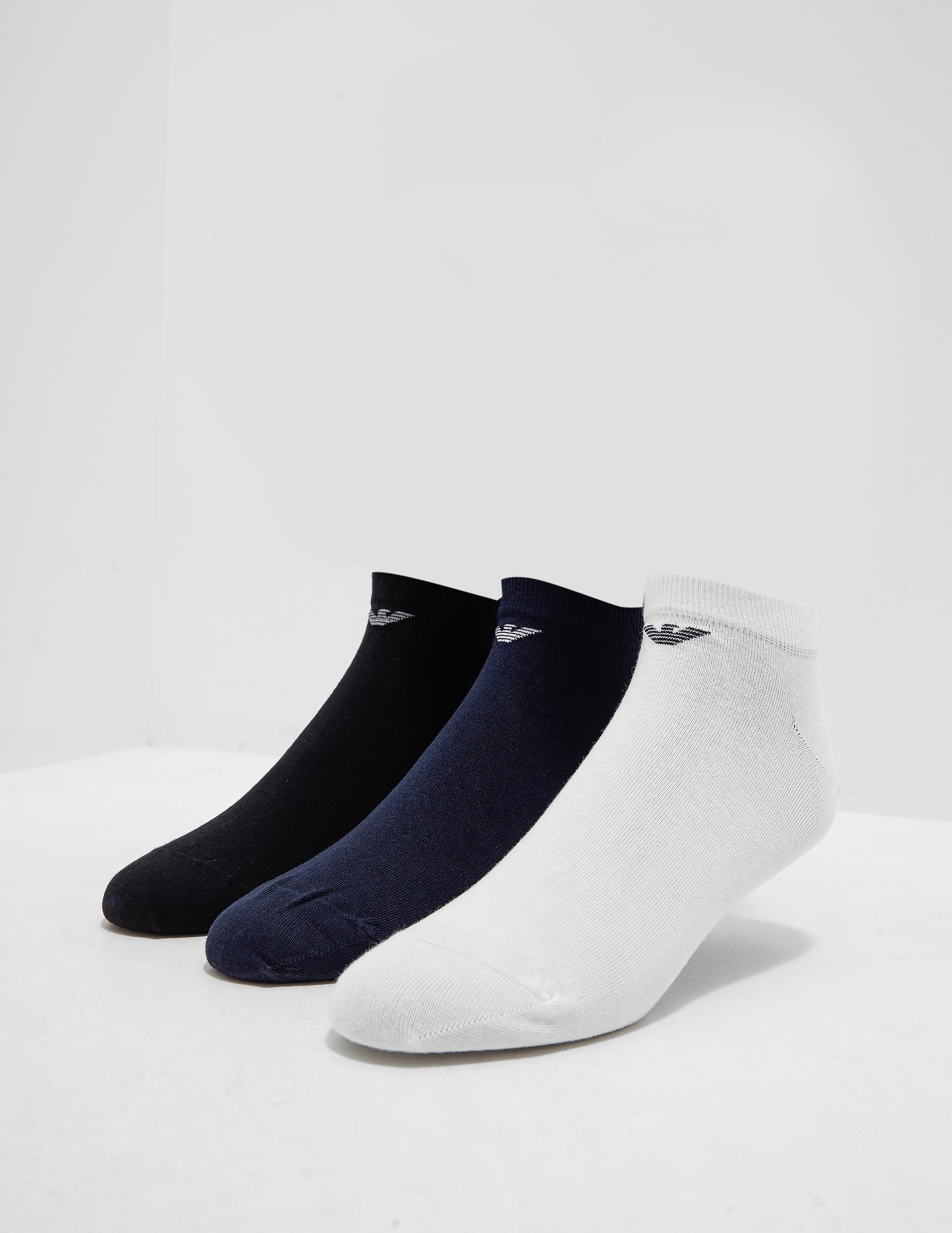 Emporio Armani 3-Pack Trainer Socks