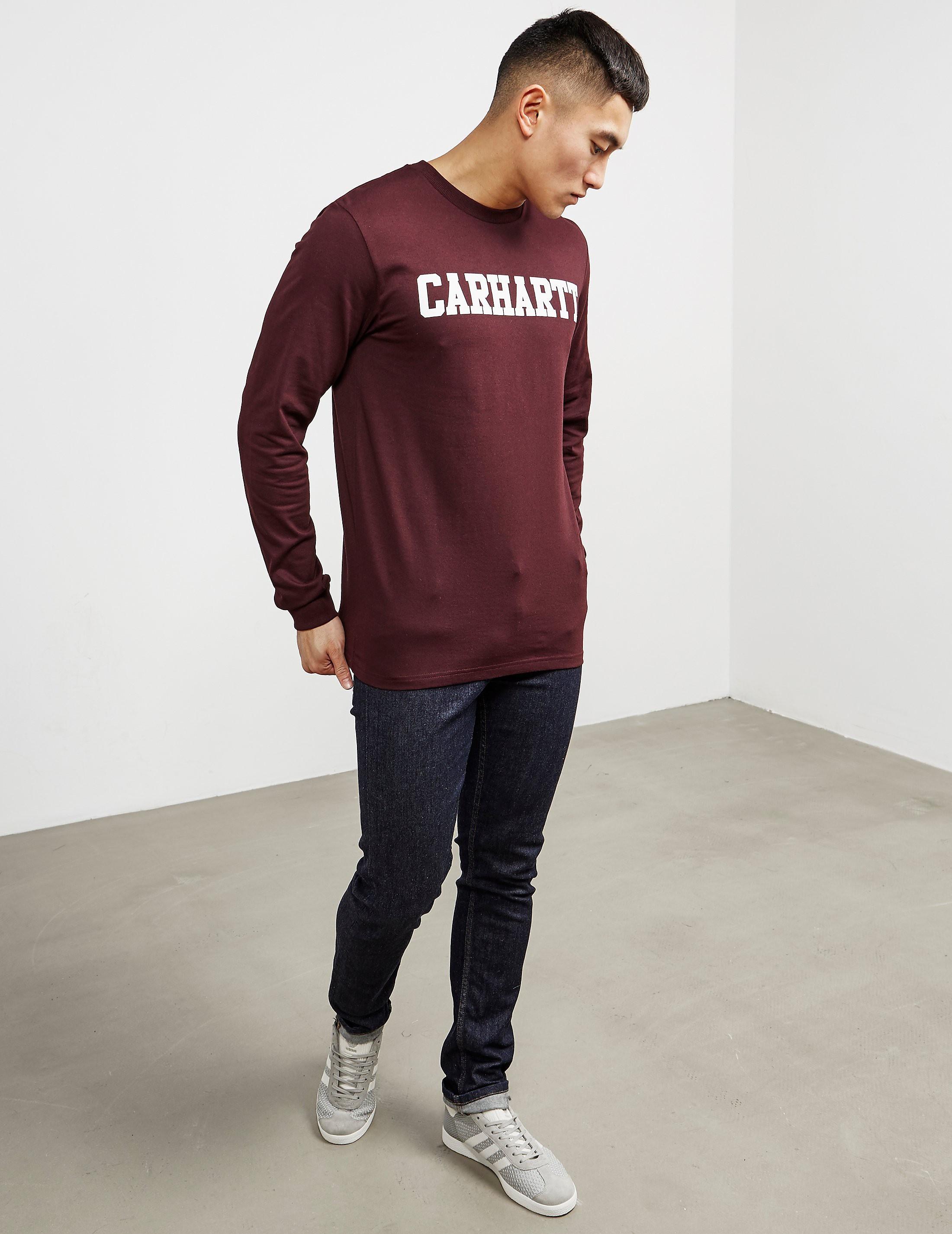 Carhartt WIP College Long Sleeve T-Shirt