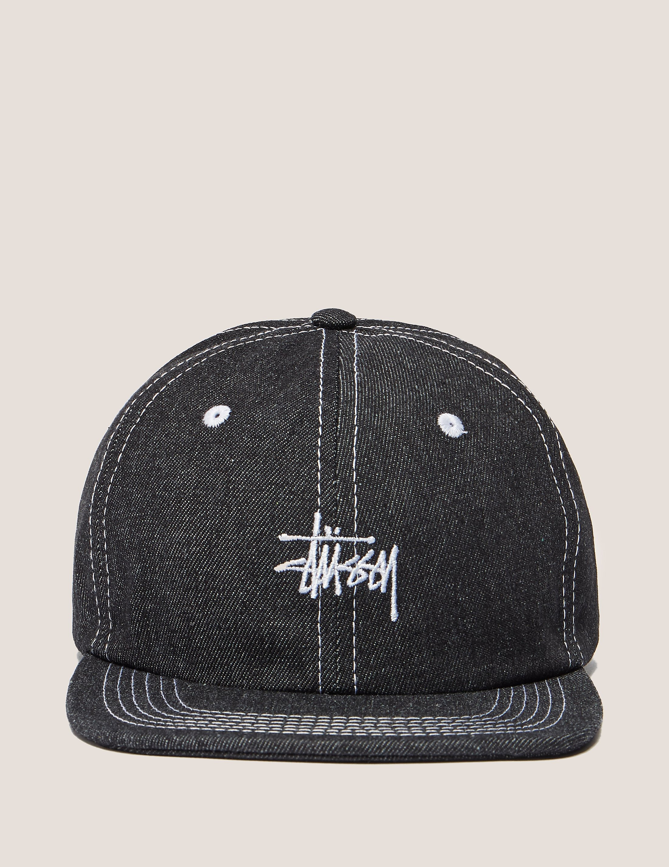 Stussy Stitch Denim Cap