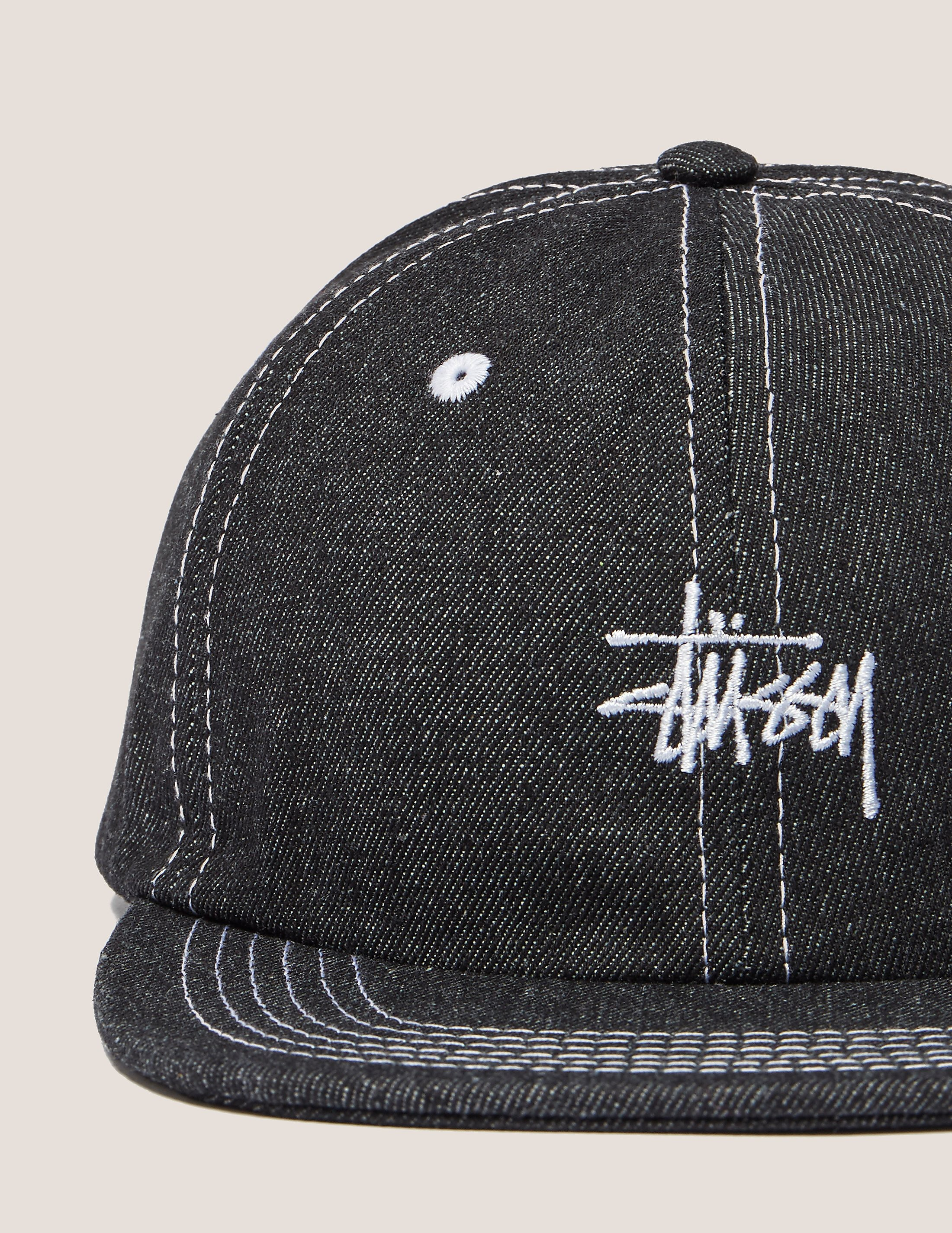 Stussy Stitch Denim Cap