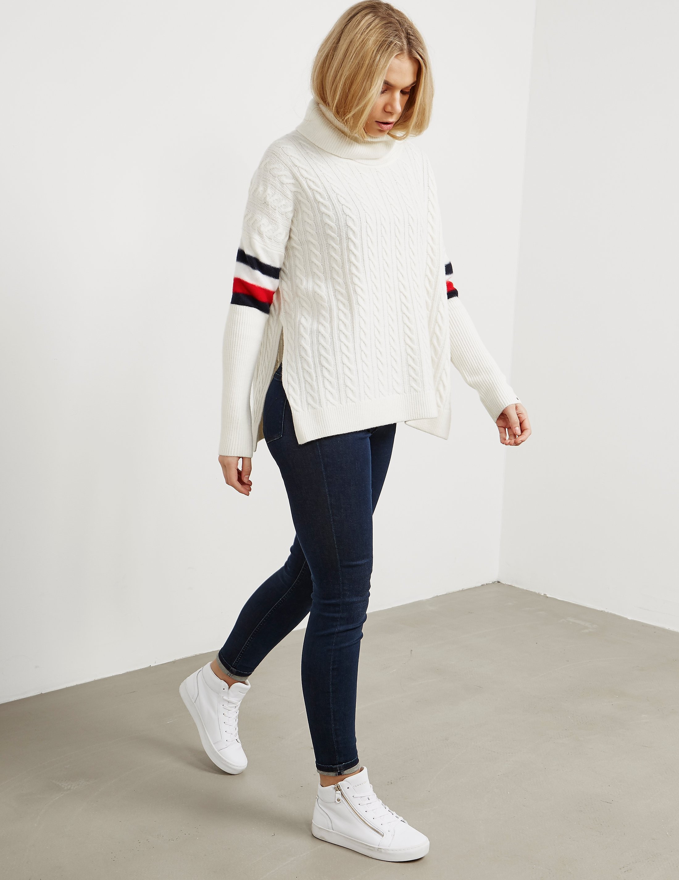 Tommy Hilfiger Aida Cable Knitted Jumper