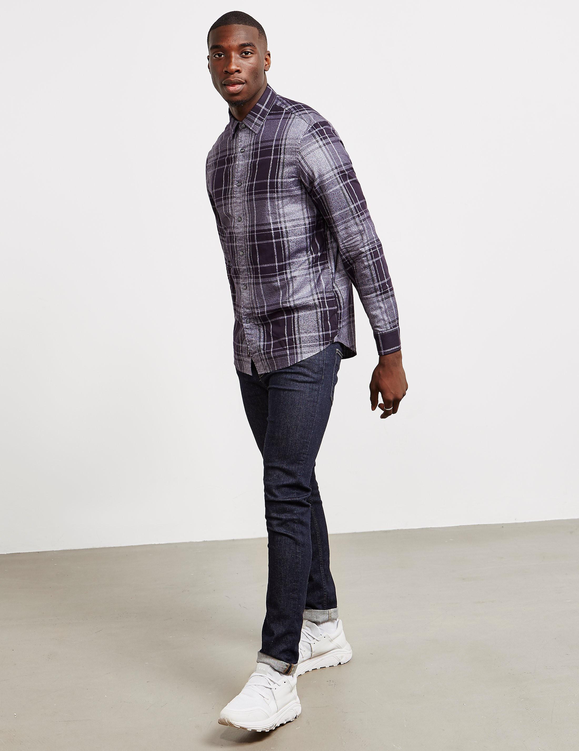 Michael Kors Checked Long Sleeve Shirt