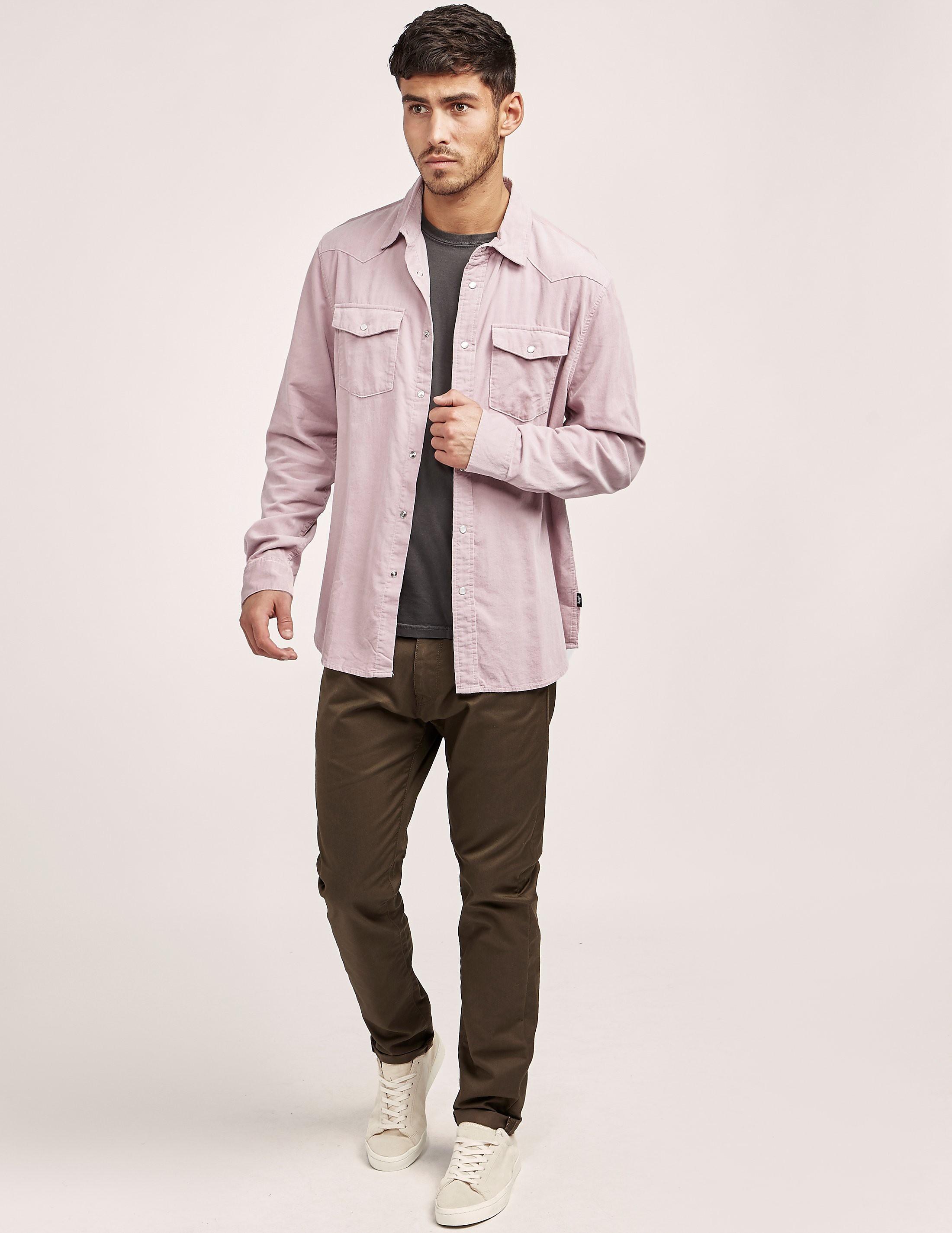 Stussy Western Long Sleeve Shirt