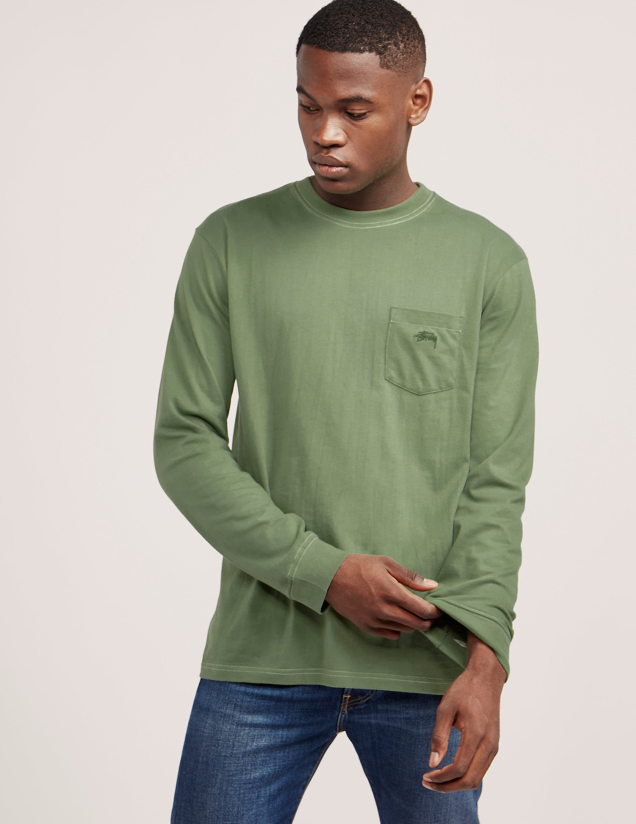 Stussy Overdyed Long Sleeve T-Shirt