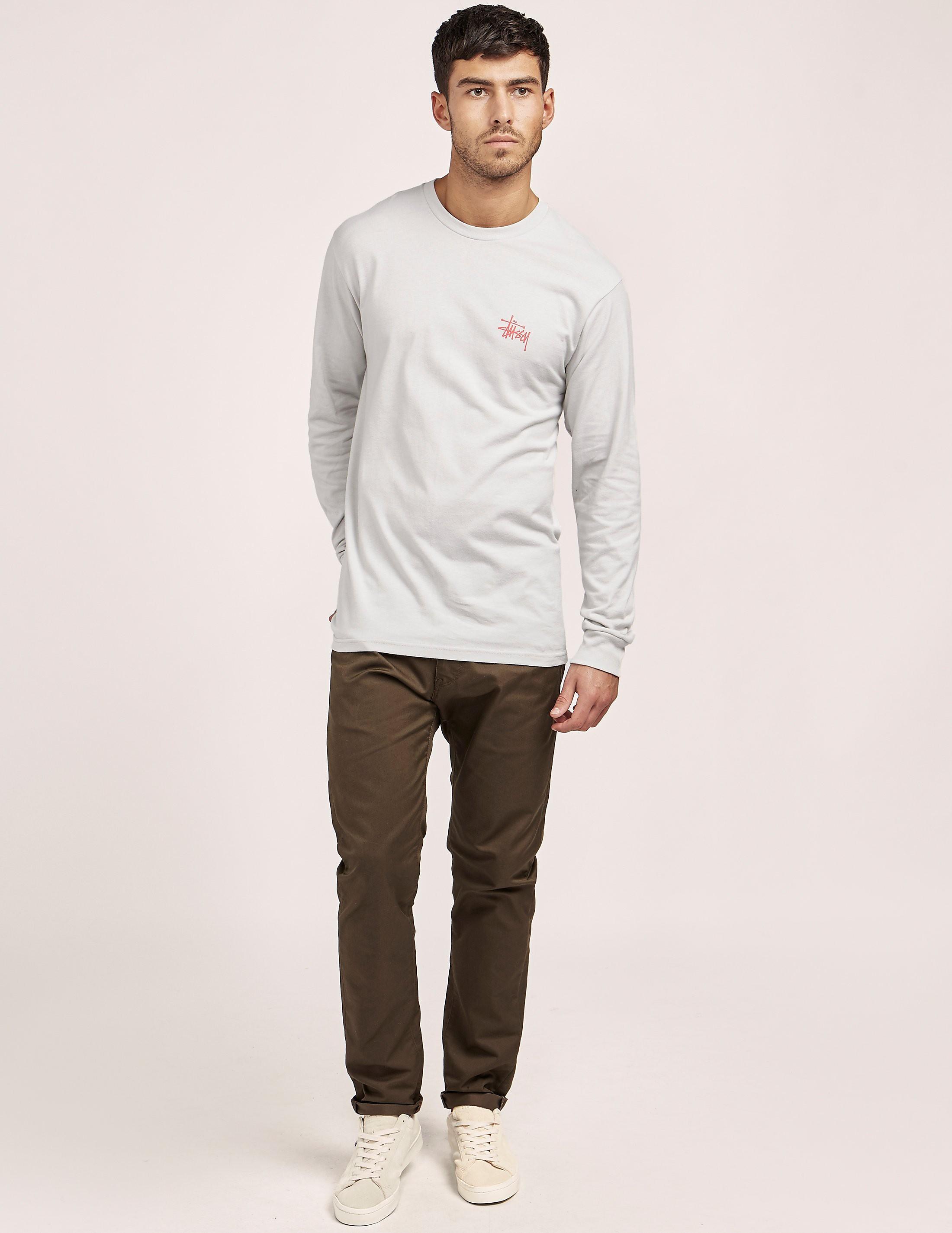 Stussy Basic Logo Long Sleeve T-Shirt