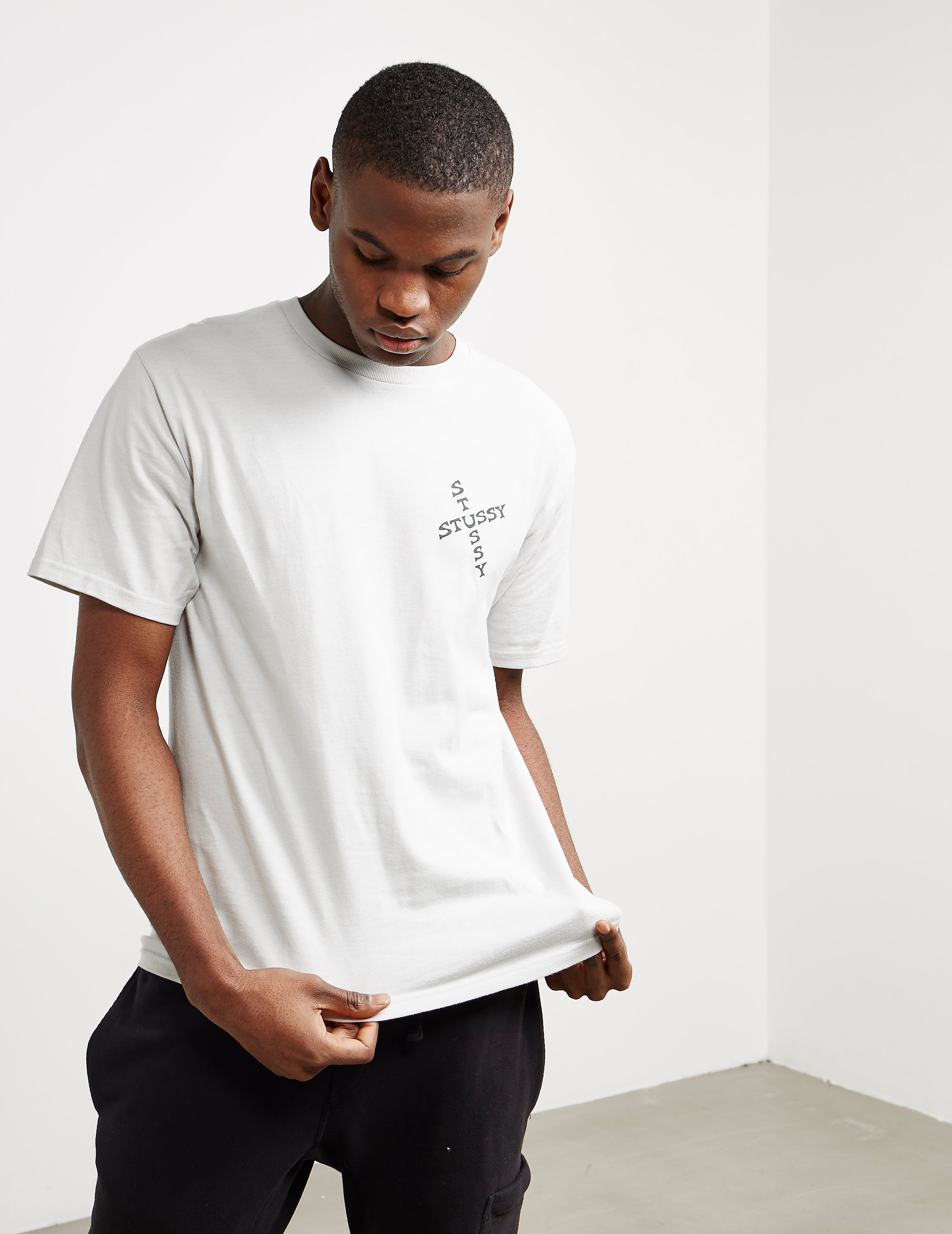 Stussy Hippie Skull Short Sleeve T-Shirt