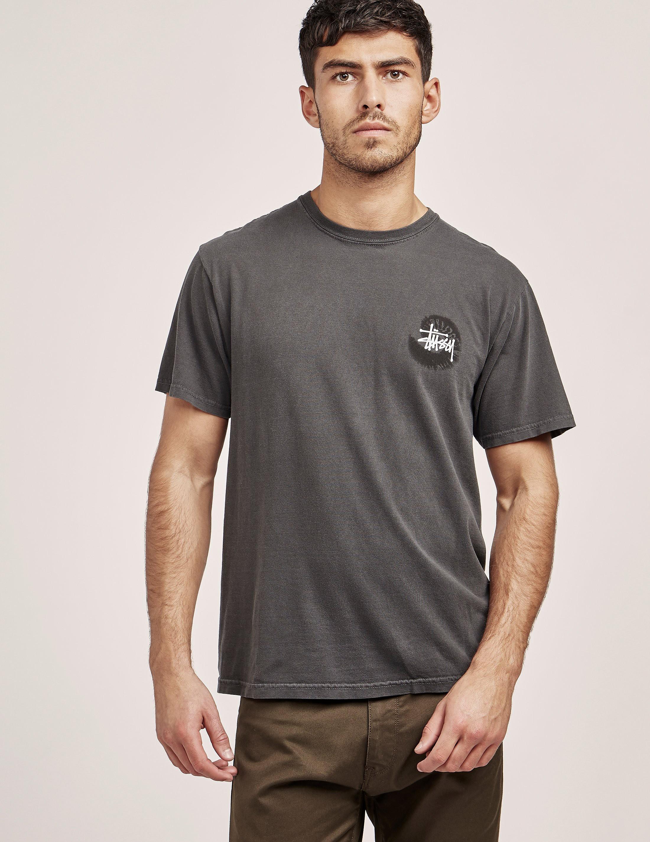 Stussy Basic Swirl Short Sleeve T-Shirt