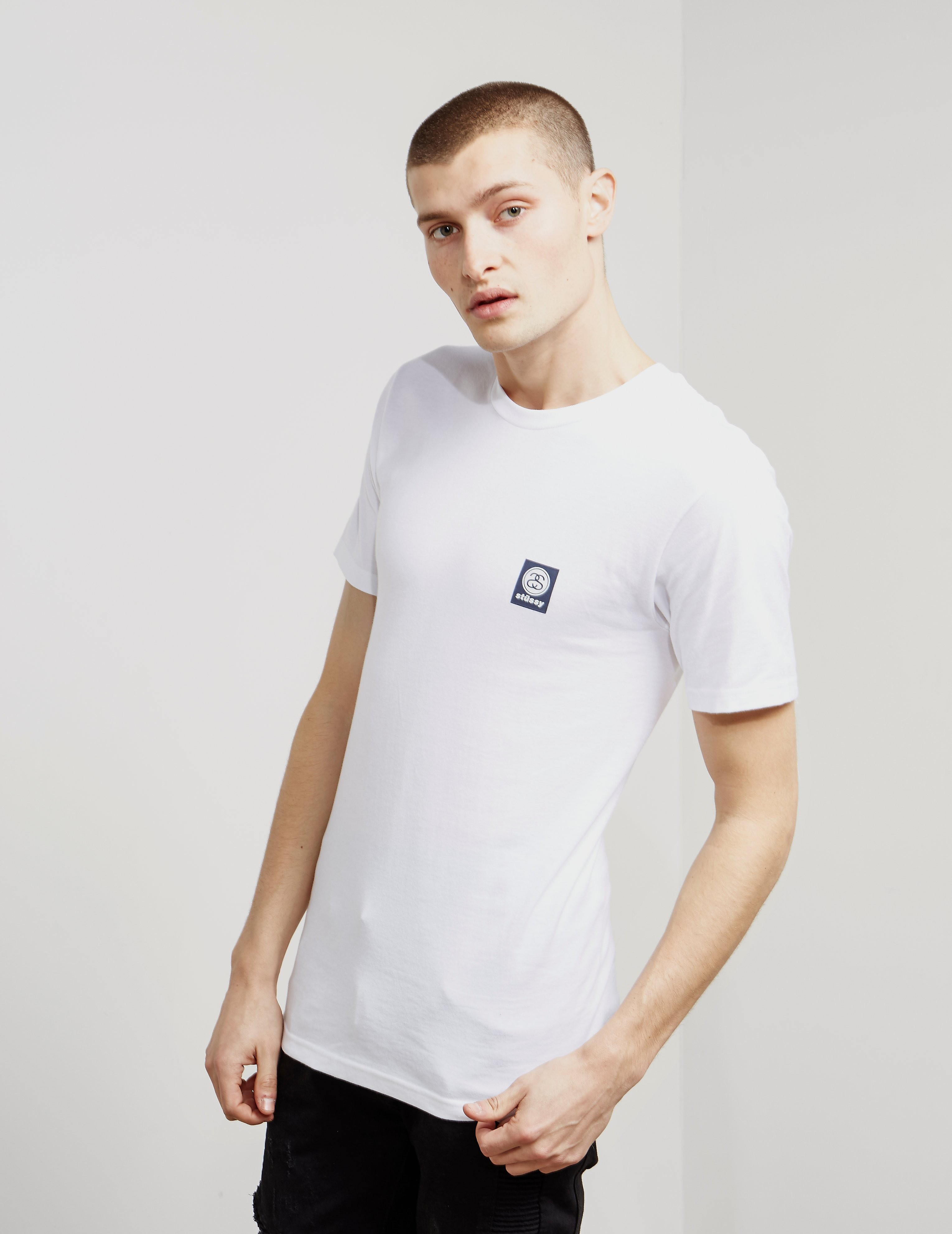Stussy Stamp Logo Short Sleeve T-Shirt