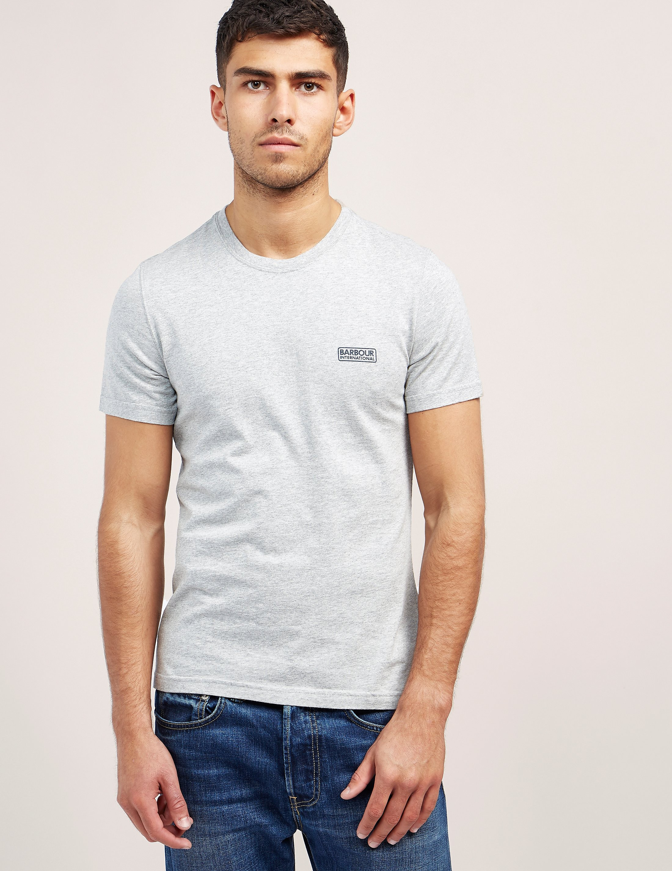 Barbour International Small Logo Short Sleeve T-Shirt