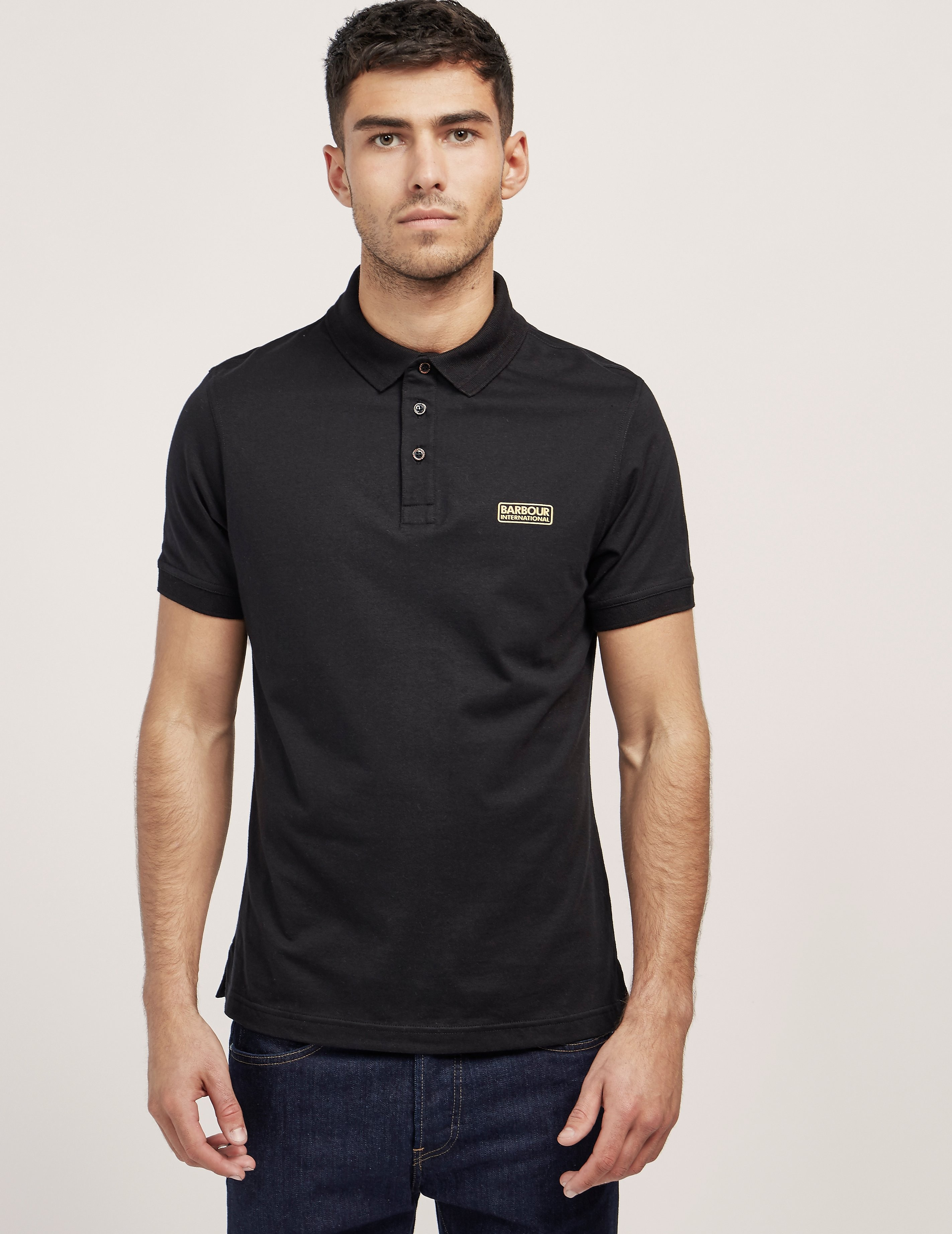 Barbour International Logo Short Sleeve Polo Shirt