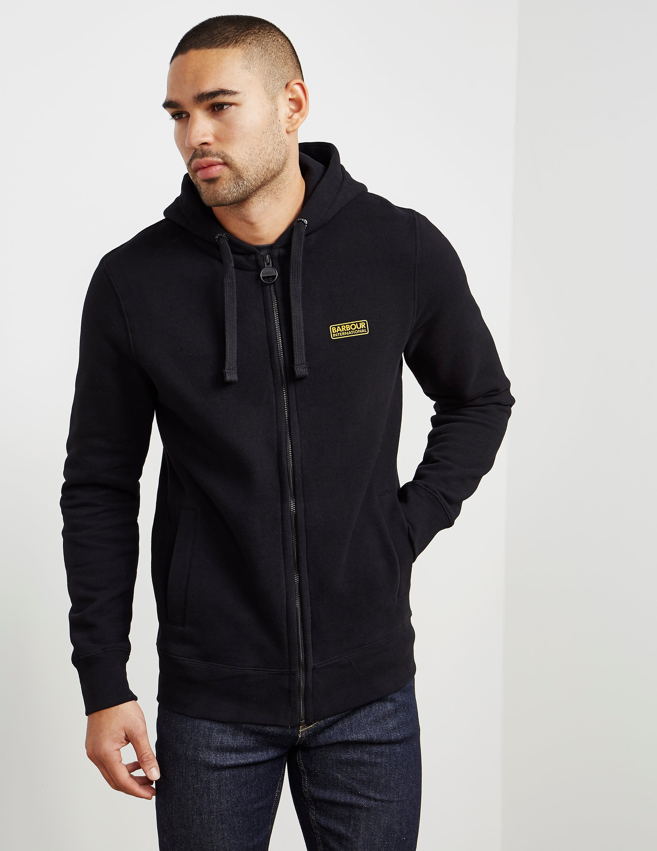 Barbour International Full Zip Hoody - Exclusive