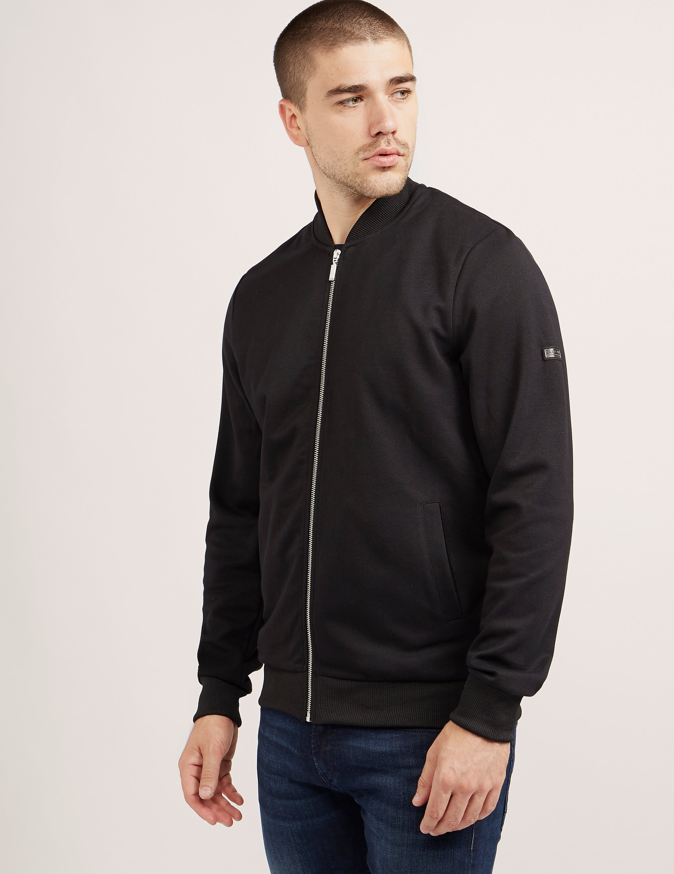 Barbour International Full Zip Bomber Track Top