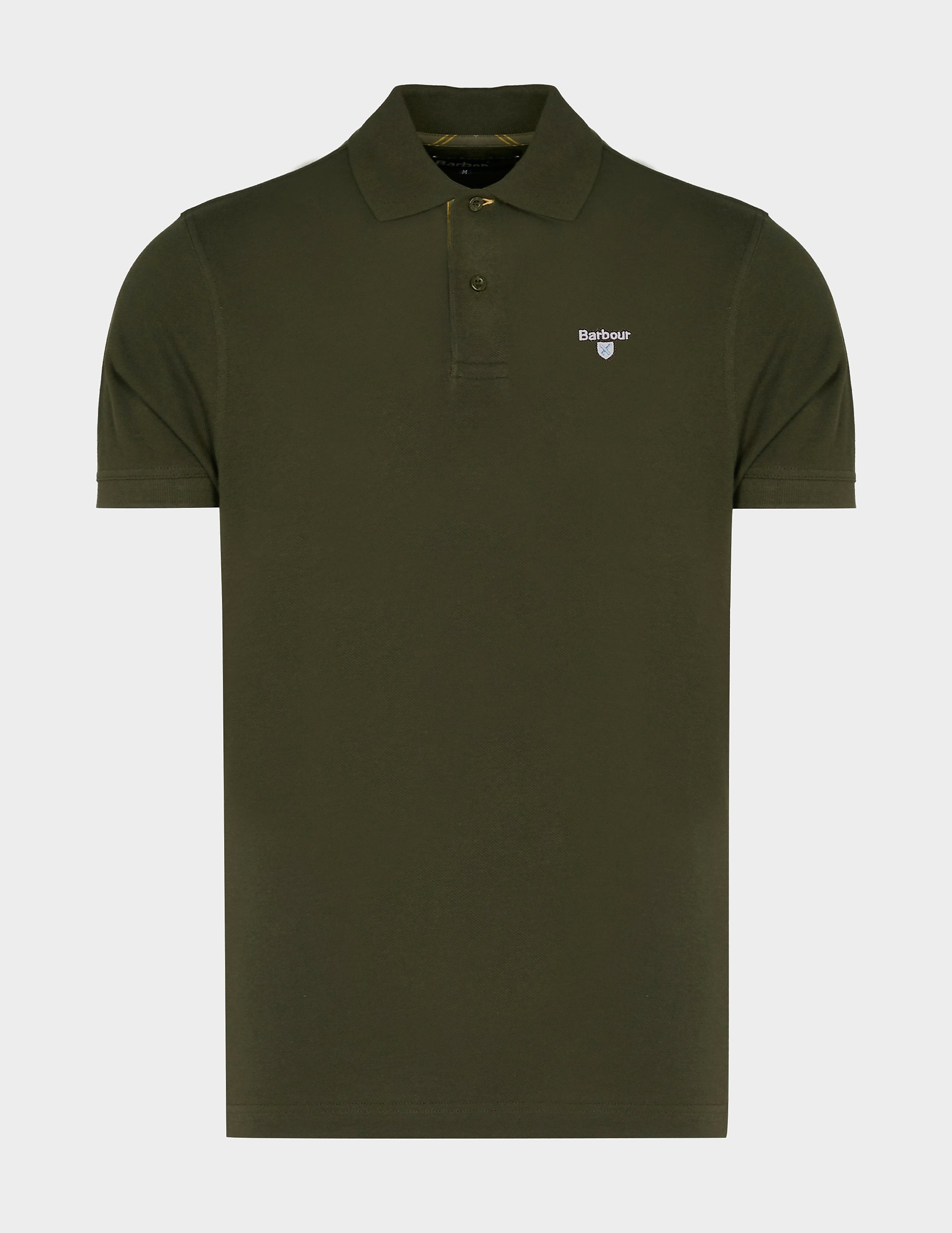 Barbour Tartan Pique Short Sleeve Polo Shirt