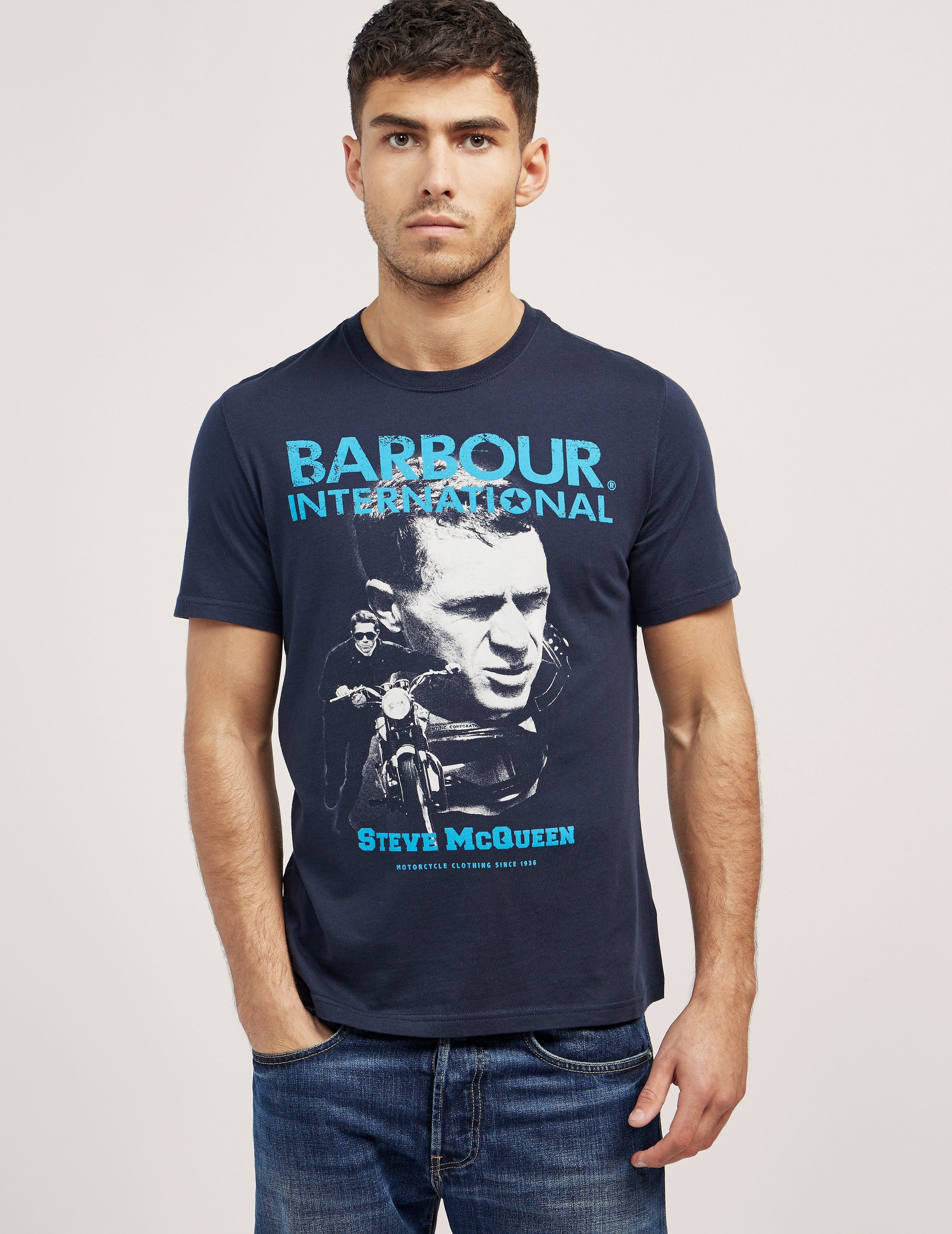 Barbour International Steve McQueen T-shirt