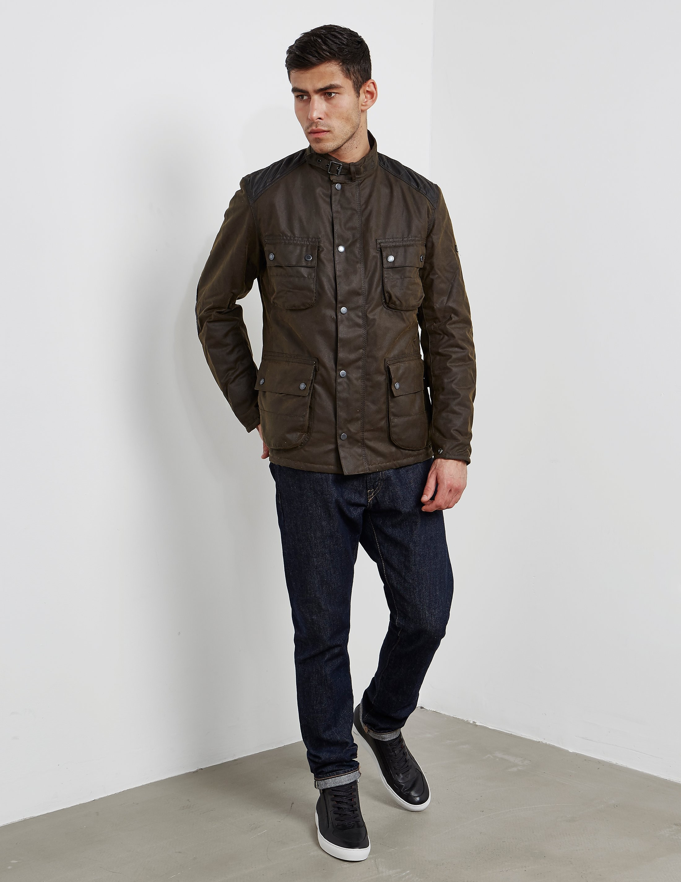 Barbour International Weir Waxed Jacket