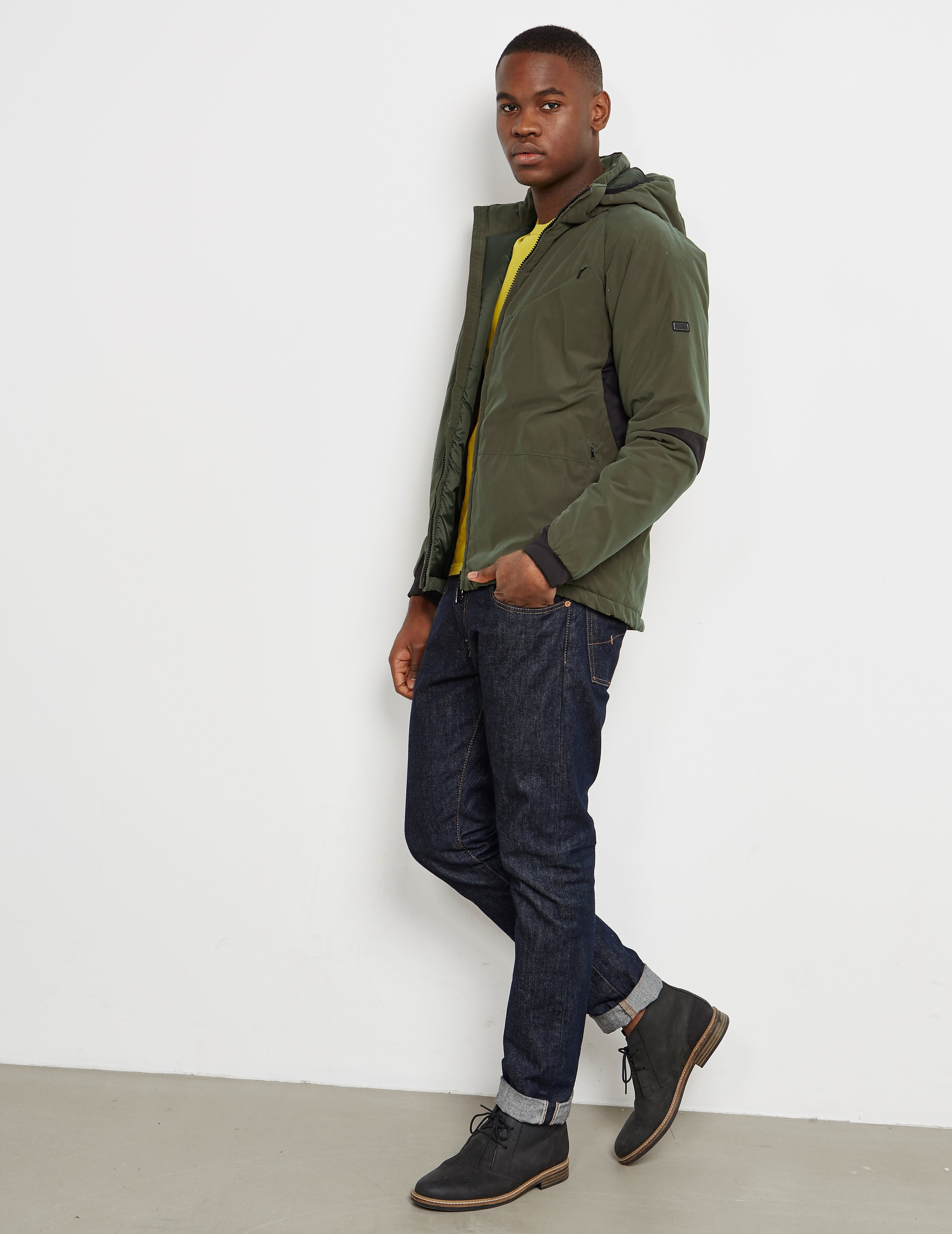 Barbour International Leeve Quilted Padded Jacket