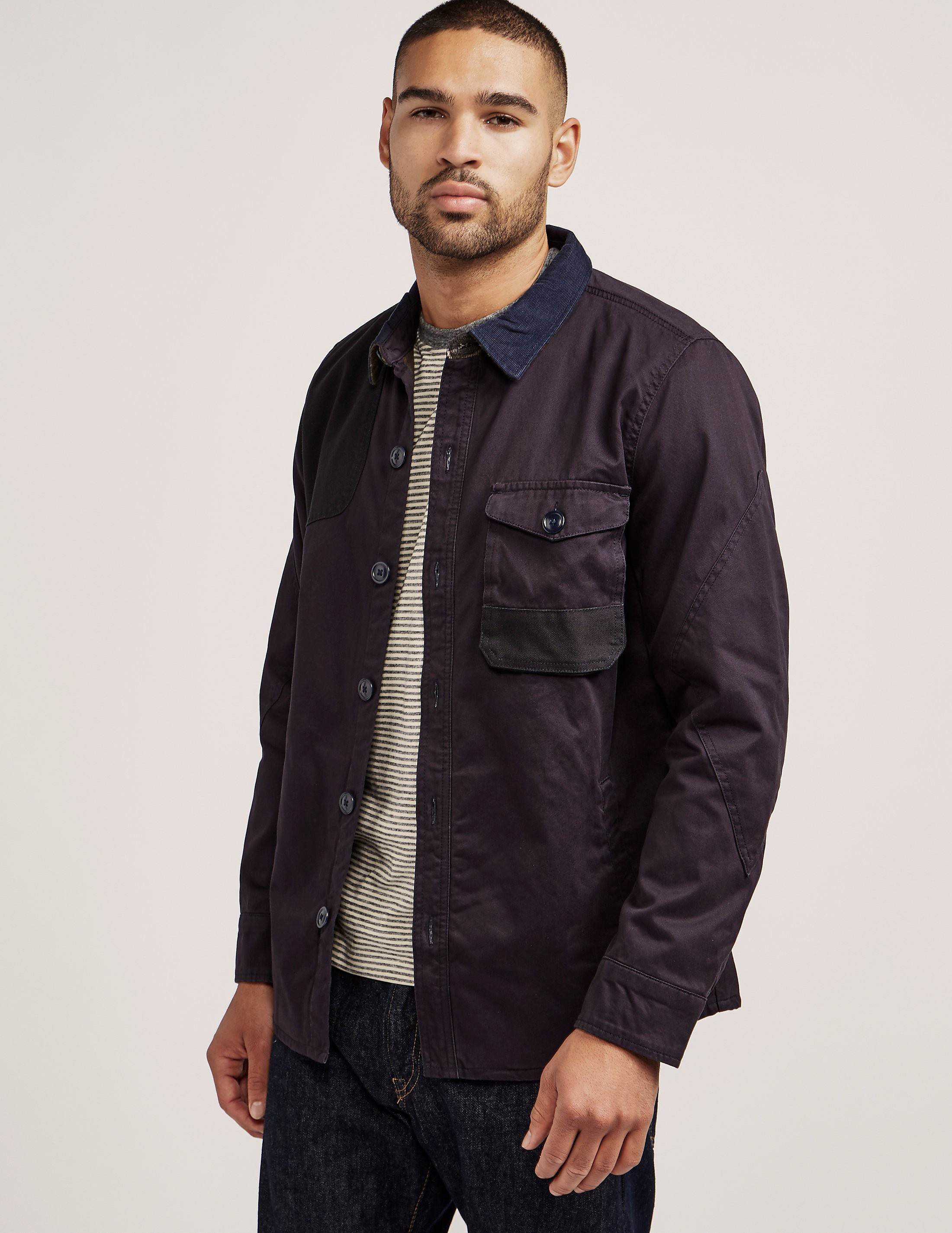 Barbour Heritage Clough Long Sleeve Overshirt