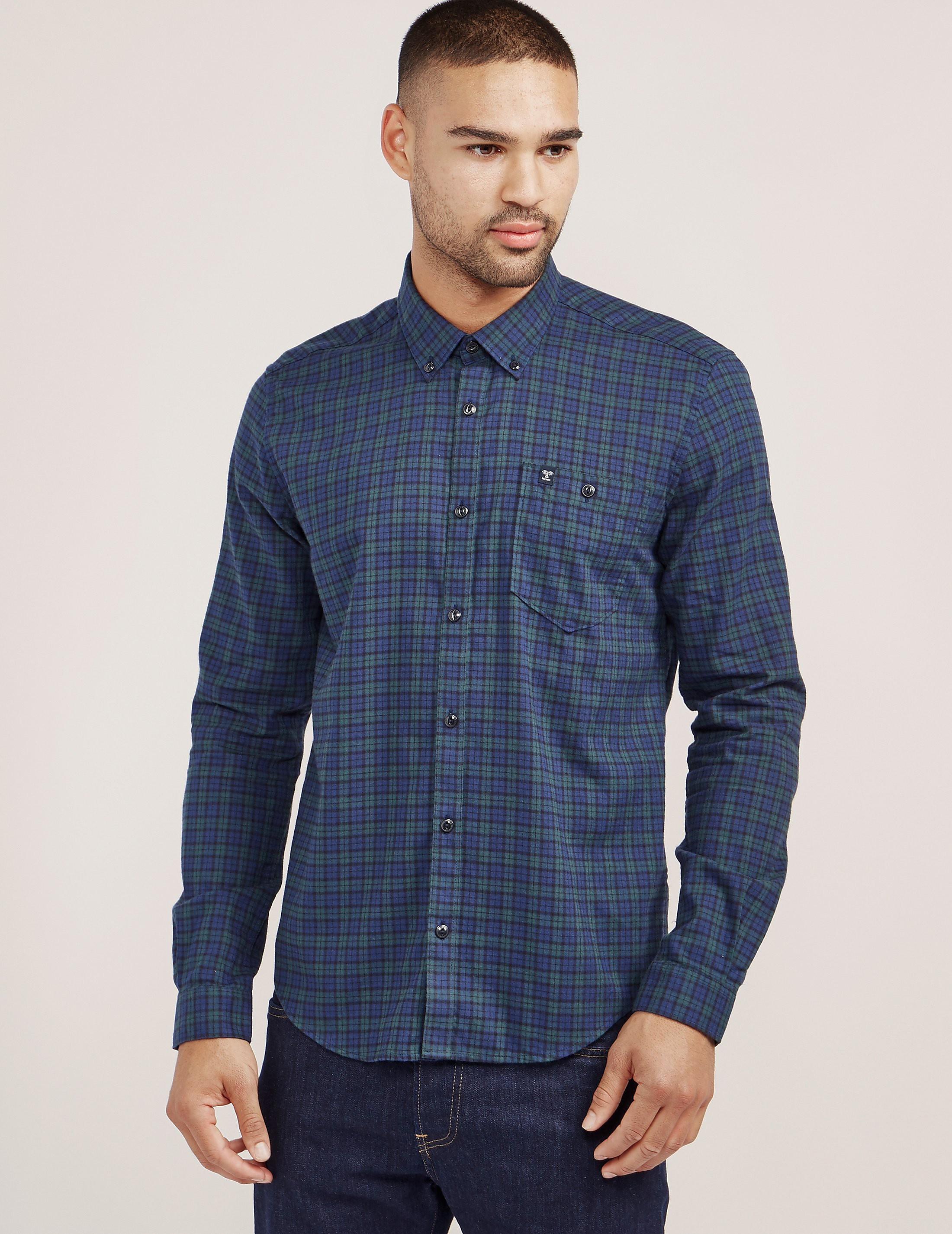 Barbour Fletcher Checked Long Sleeve Shirt