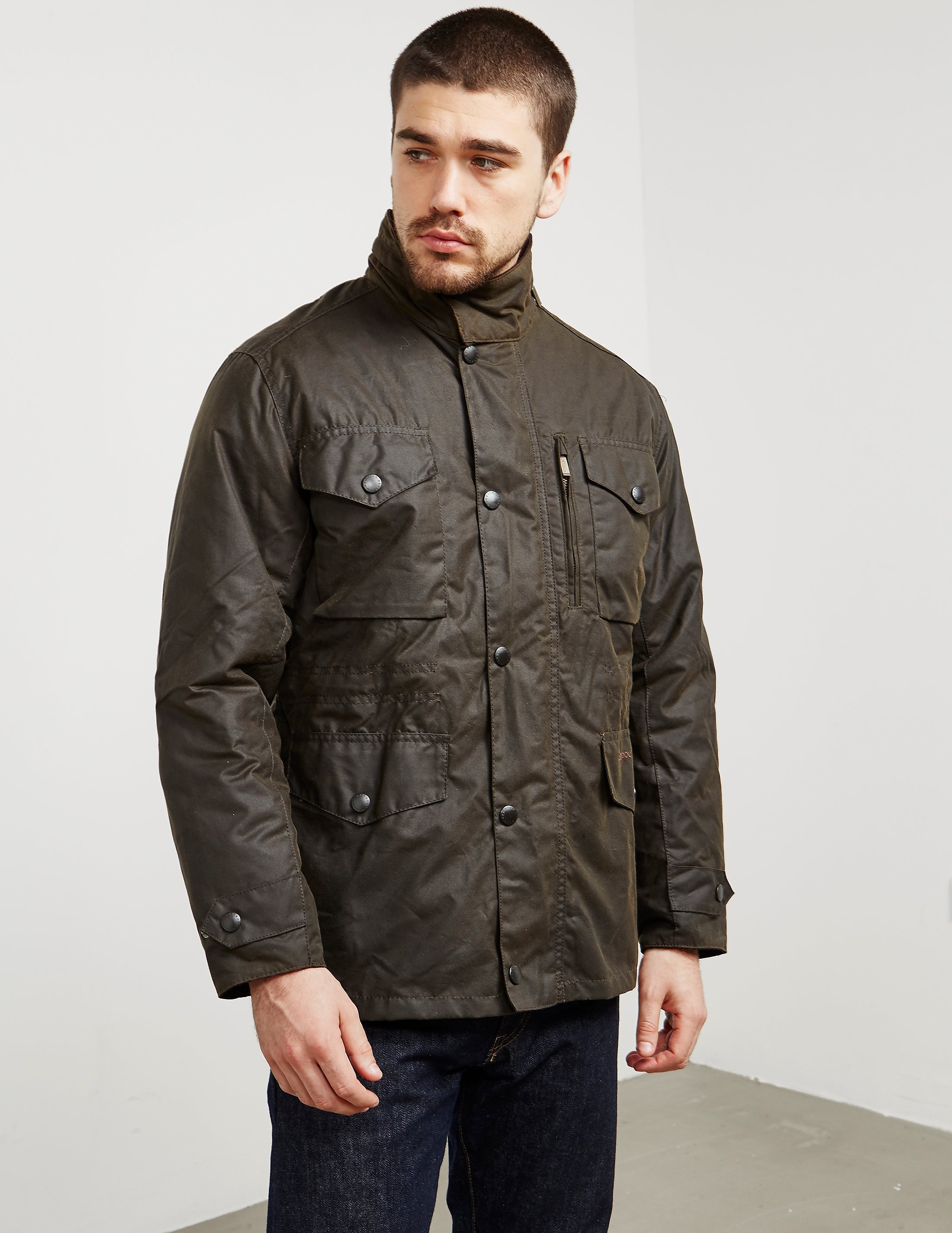 Barbour Sapper Wax Lightweight Jacket