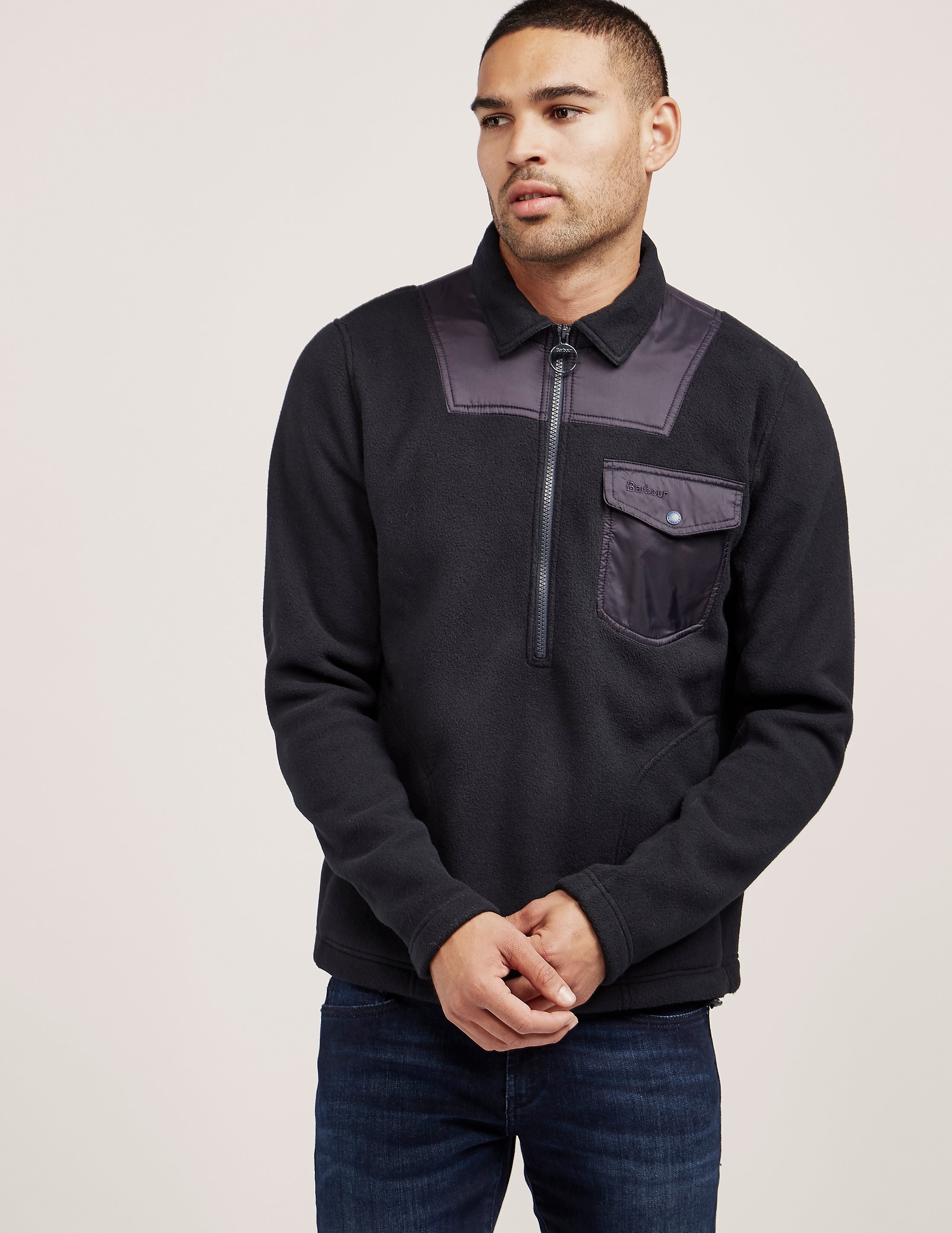 Barbour Farimond Half Zip Sweatshirt