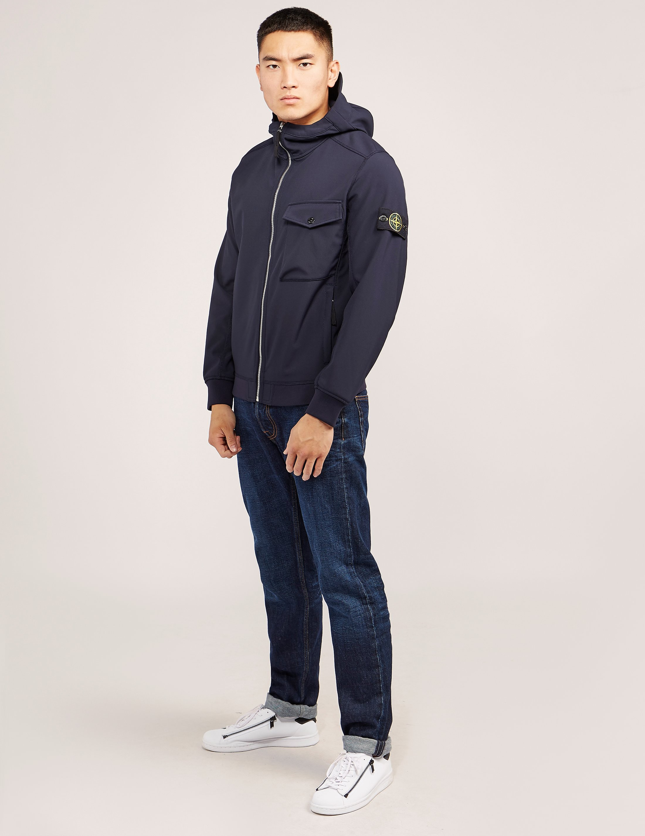 Stone Island Shell Hooded Lightweight Jacket