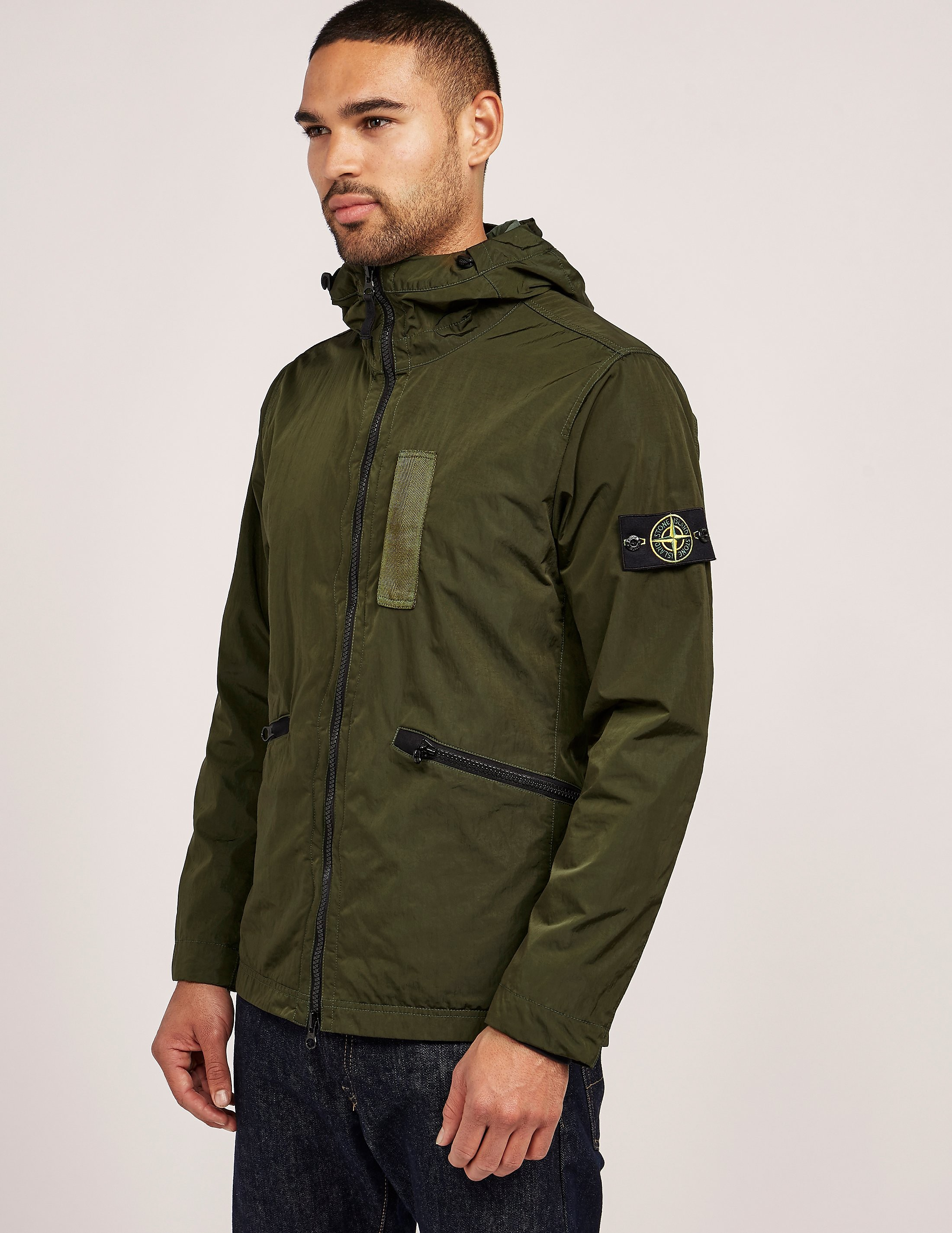 Stone Island Hooded Jacket