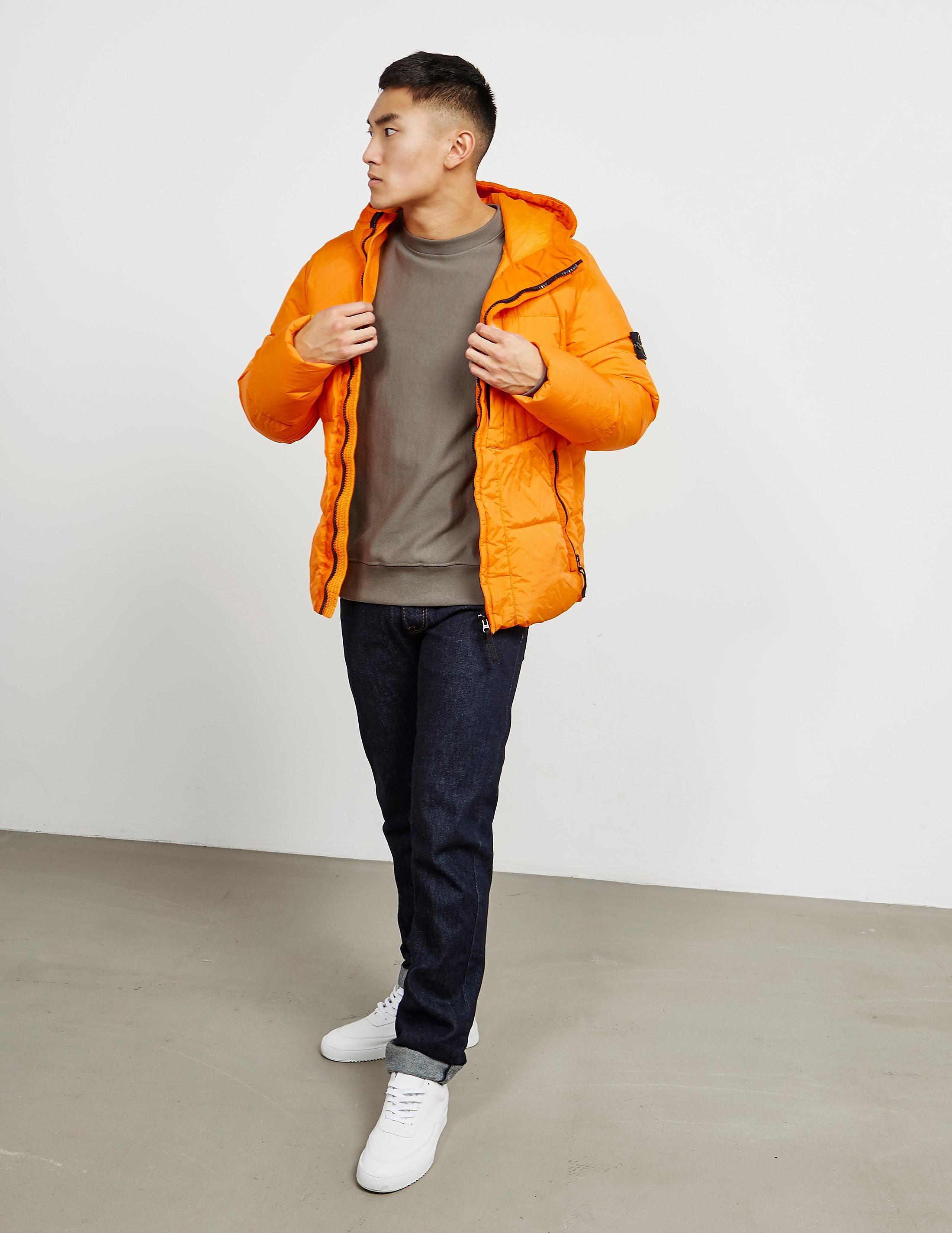 Stone Island Garment Dyed Crinkle Jacket