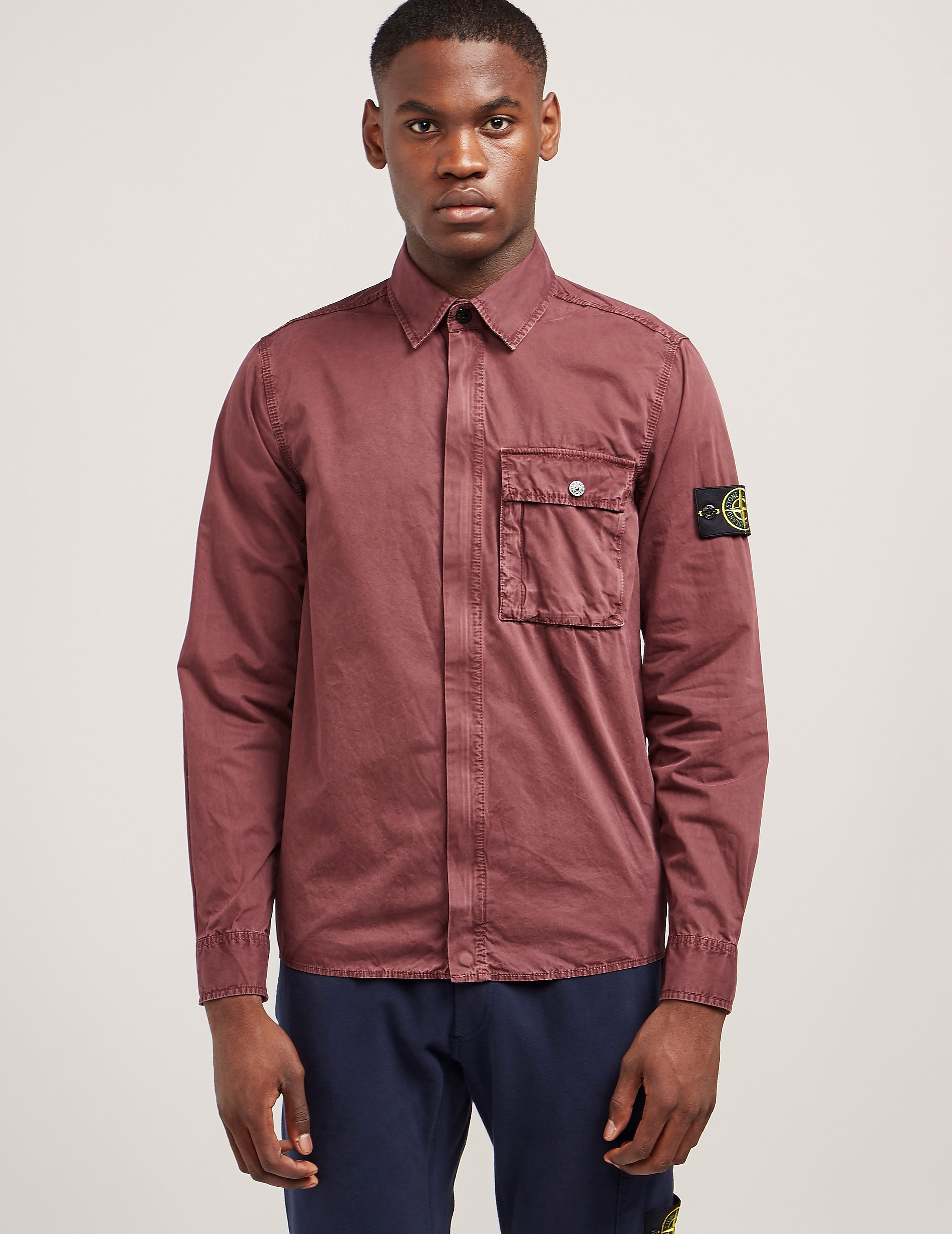 Stone Island Garment Dyed Overshirt