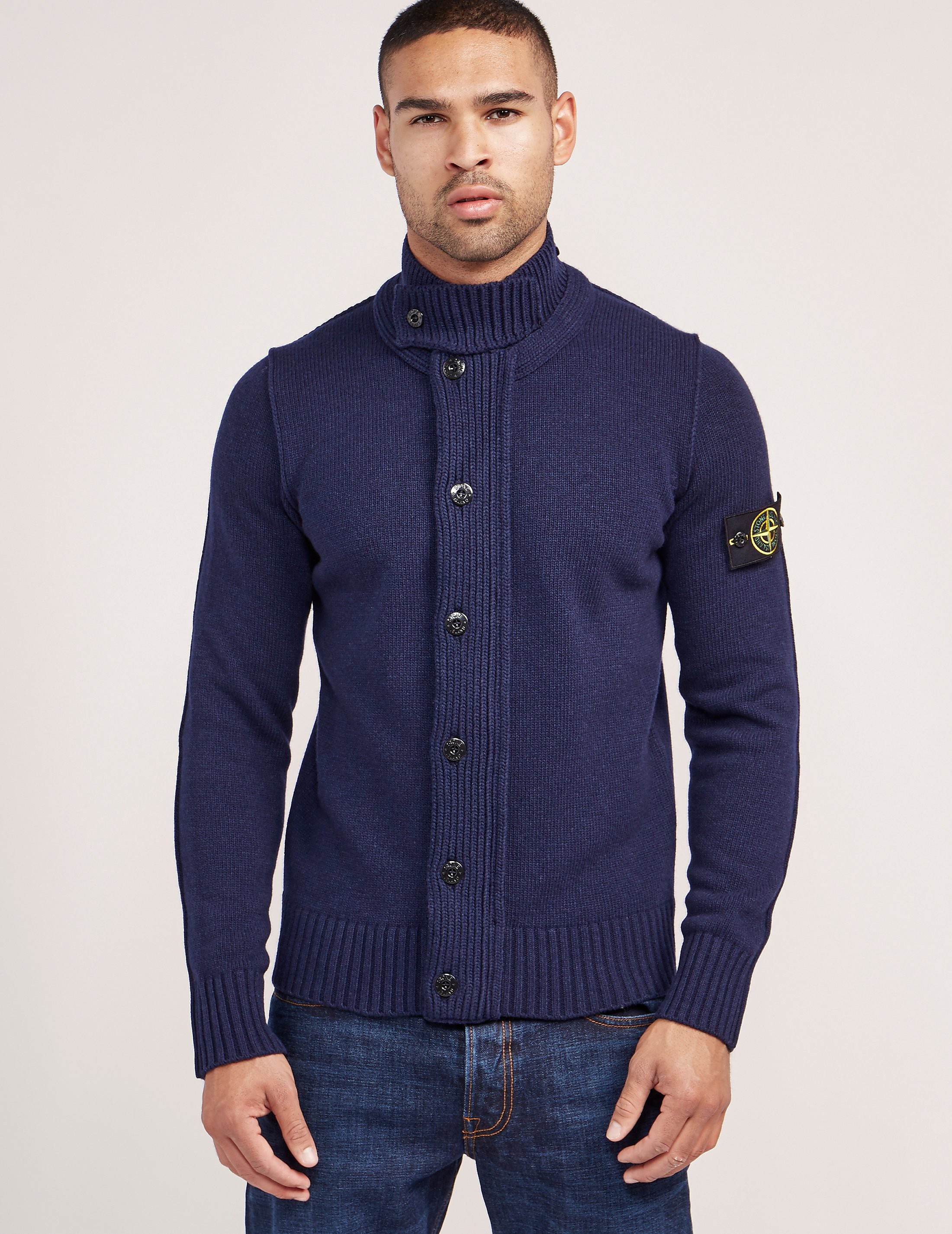 Stone Island Button Cardigan