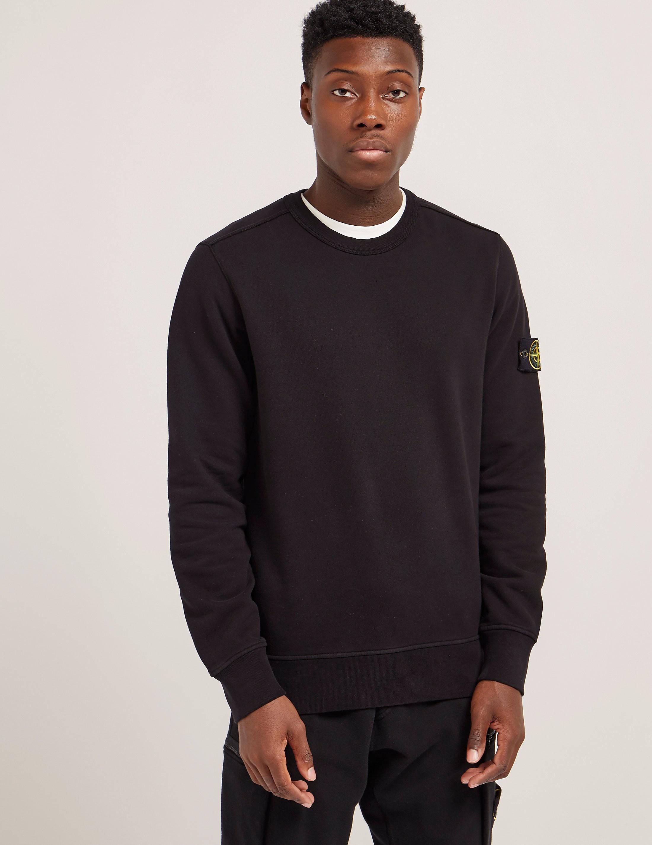 Stone Island Basic Crew Neck Sweatshirt